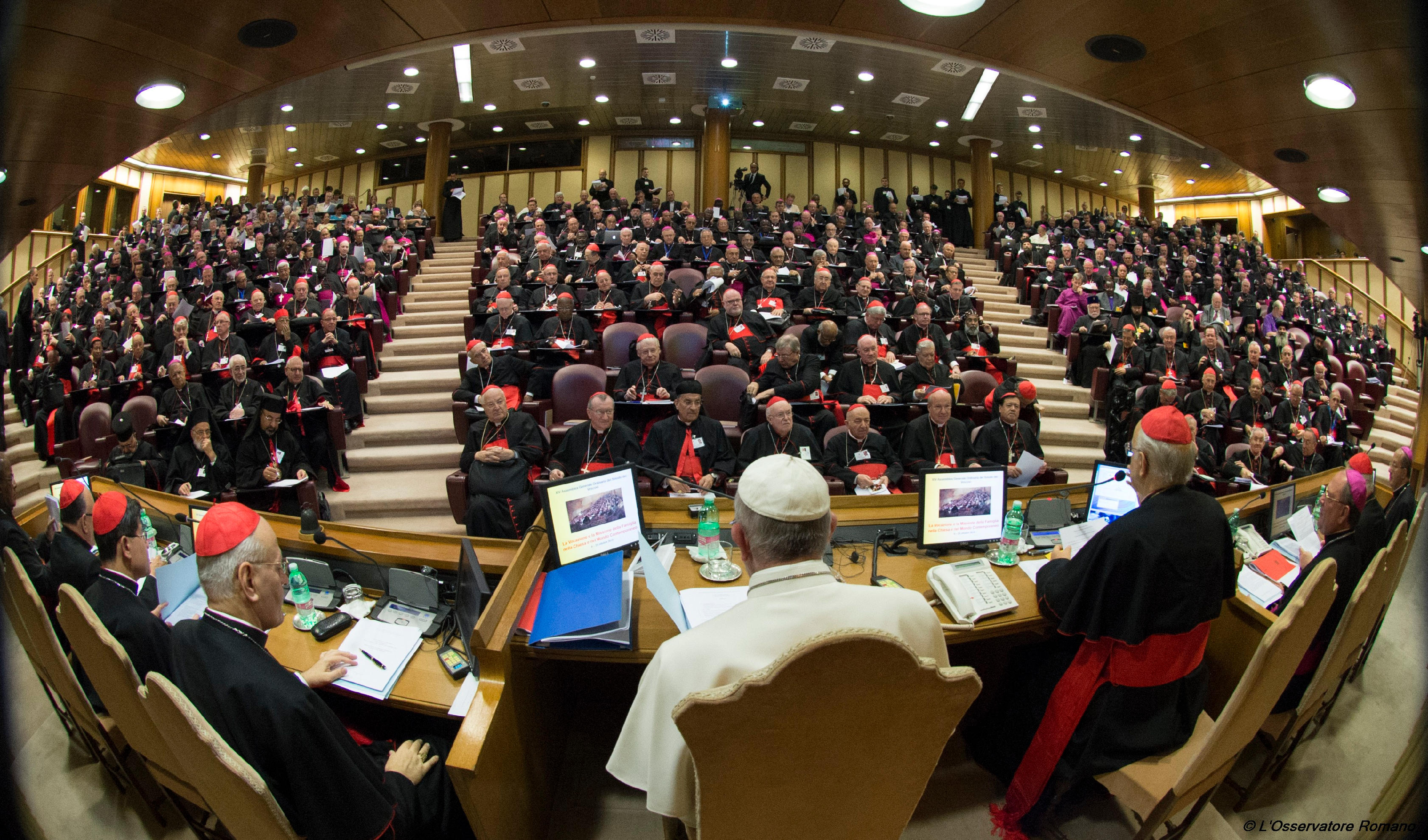 Opening session of the Synod of Bishops on the Family