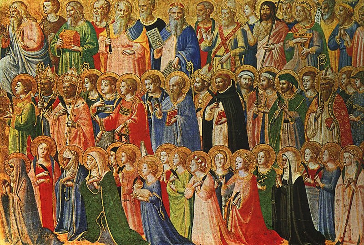 Les saints de Fra Angelico © Wikimedia Commons / Sampo Torgo