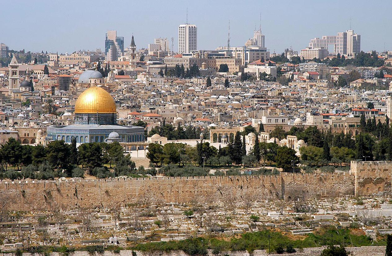 Jérusalem, esplanade du Temple et des mosquées © WIKIMEDIA COMMONS - Wayne McLean