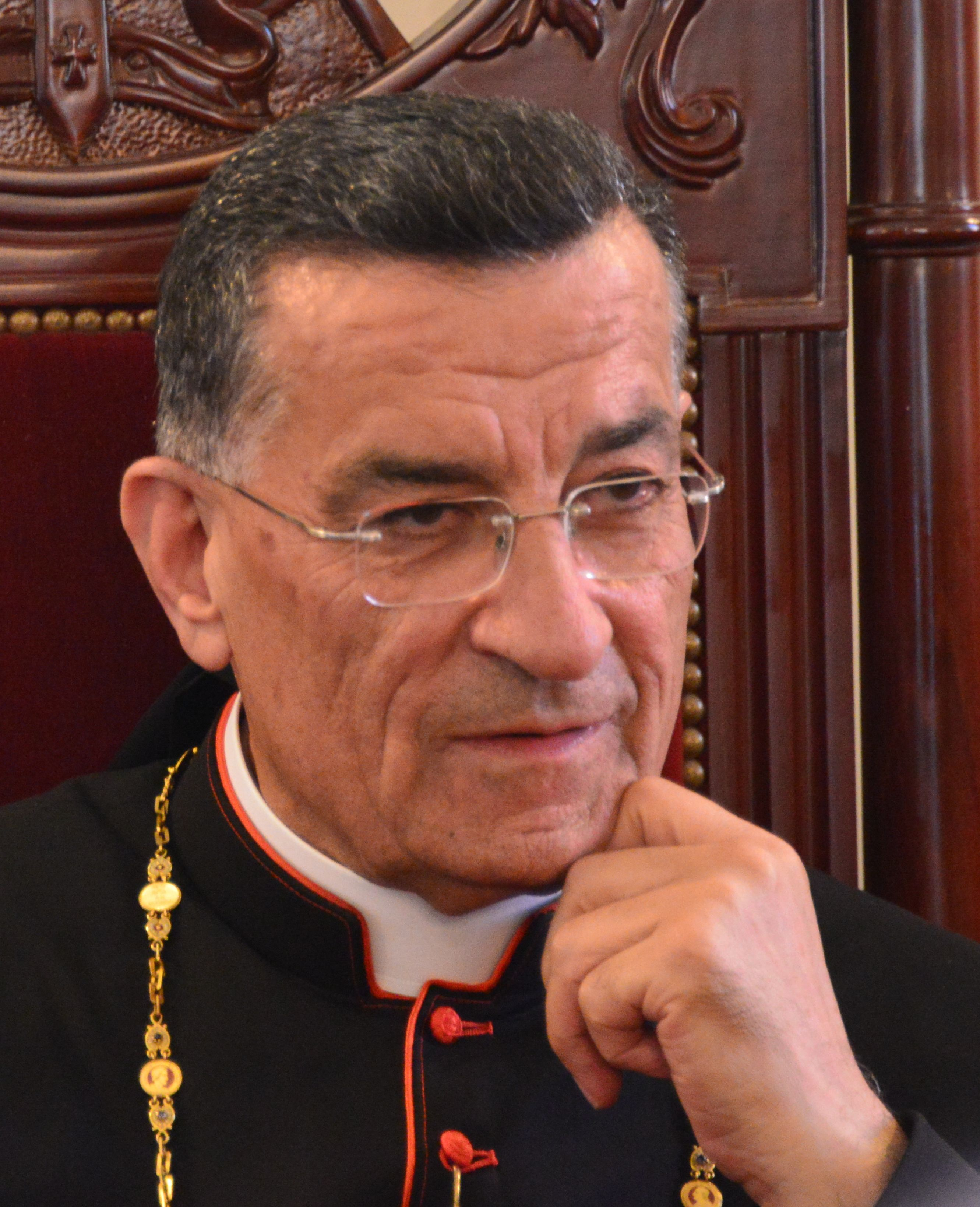 Le patriarche et cardinal maronite Béchara Raï ©ACN - Aid to the Church in Need
