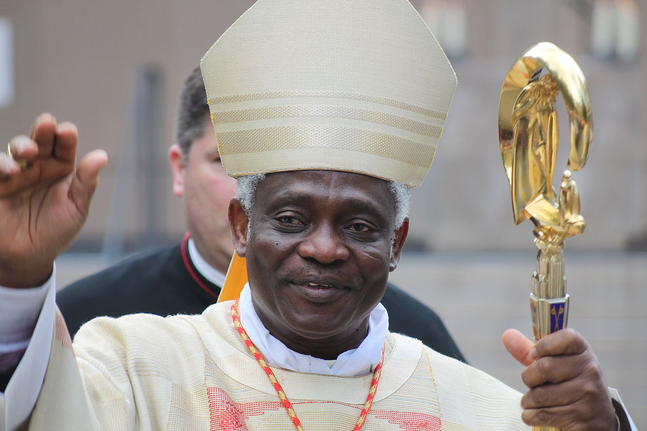 Cardinal Peter Kodwo Appiah Turkson, WIKIMEDIA COMMONS - Missmarple76