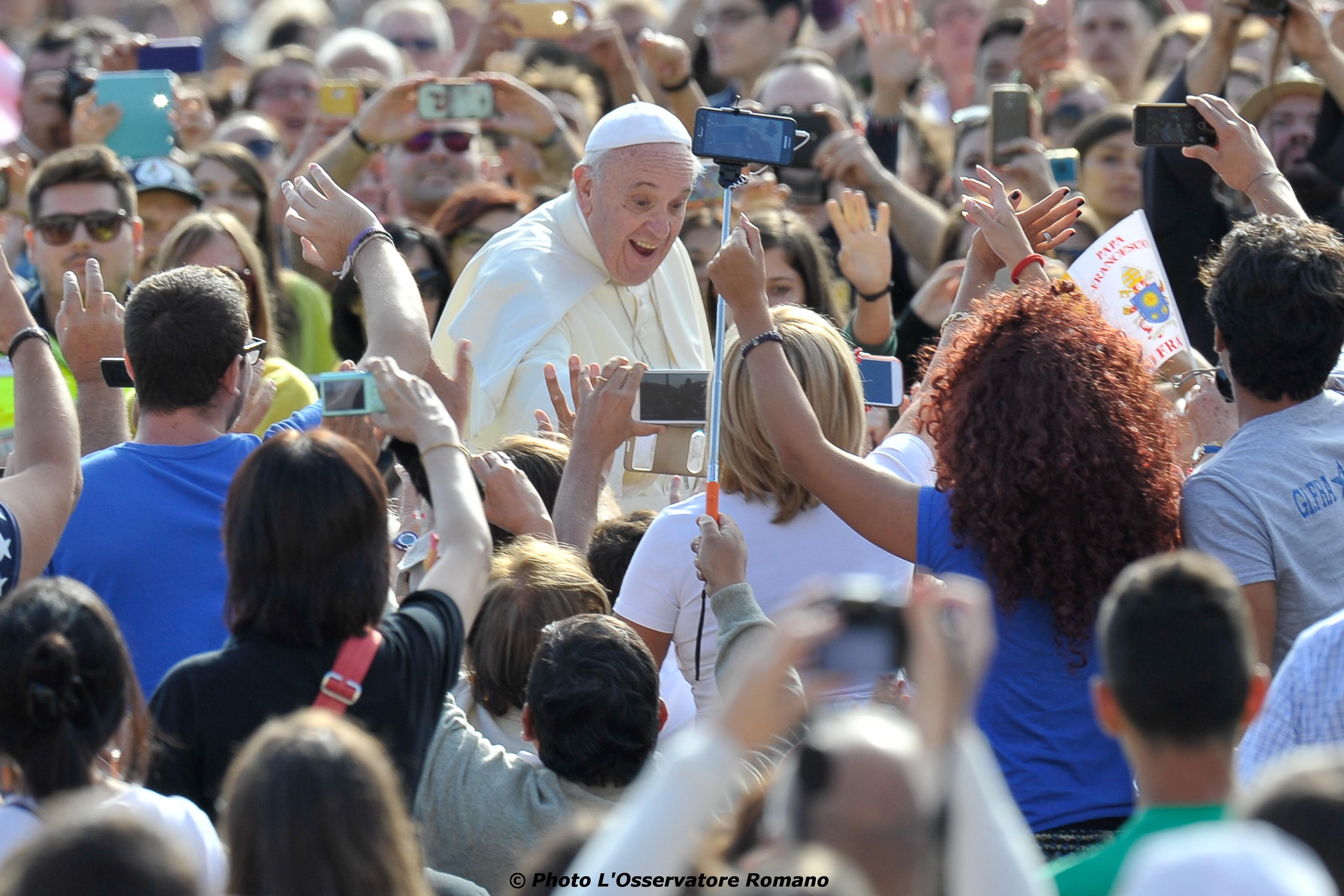 Pope Francis in Santa Marta. 7 September 2015