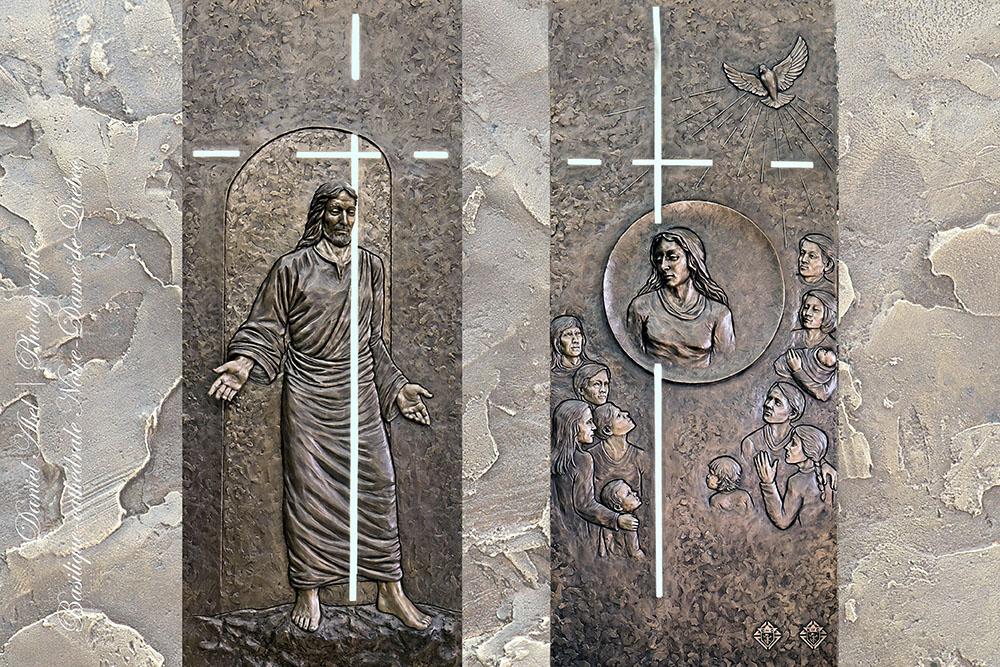 Notre Dame de Québec (Canada) la Porte sainte