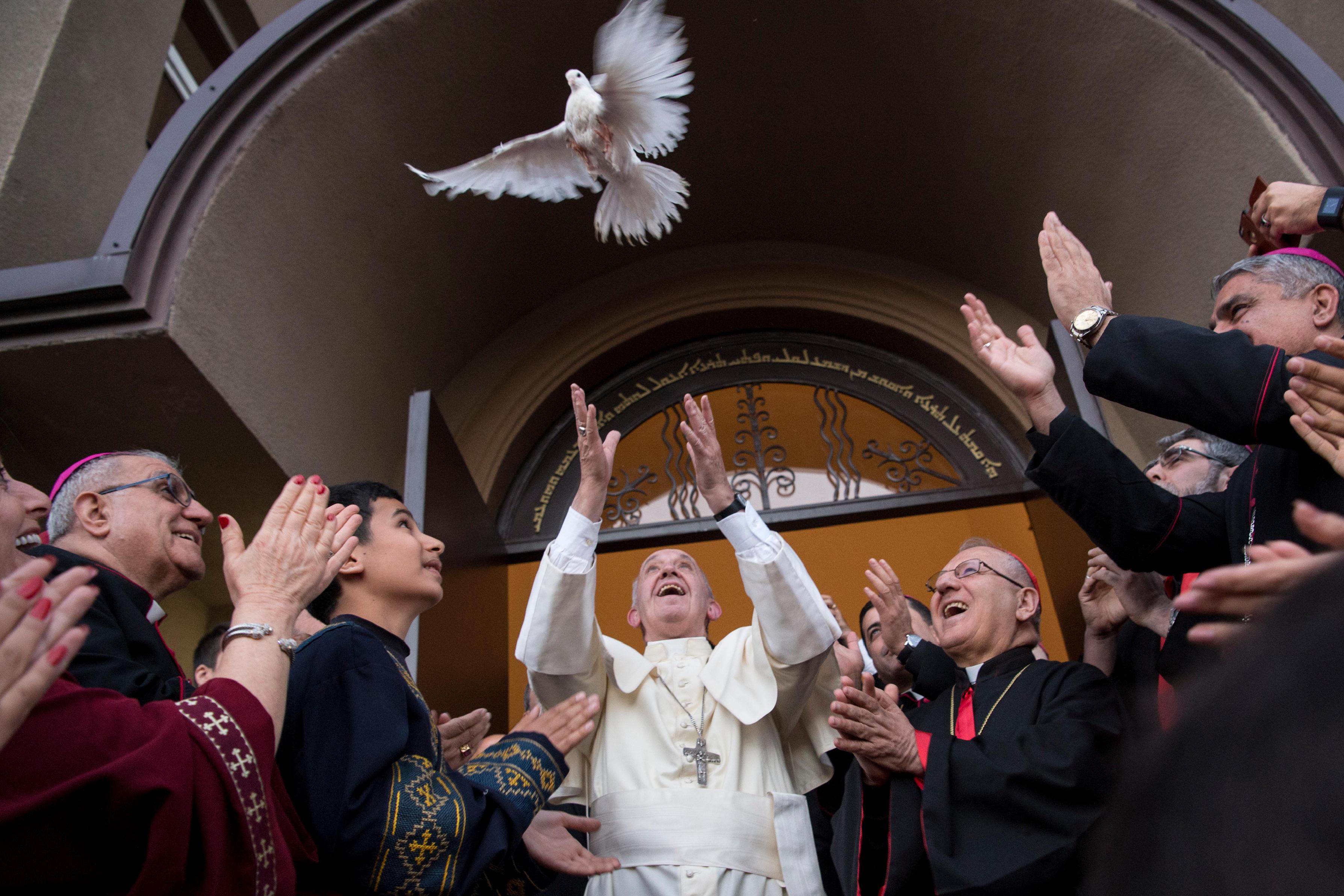 Prière pour la paix avec les Chaldéens de Géorgie © L'Osservatore Romano