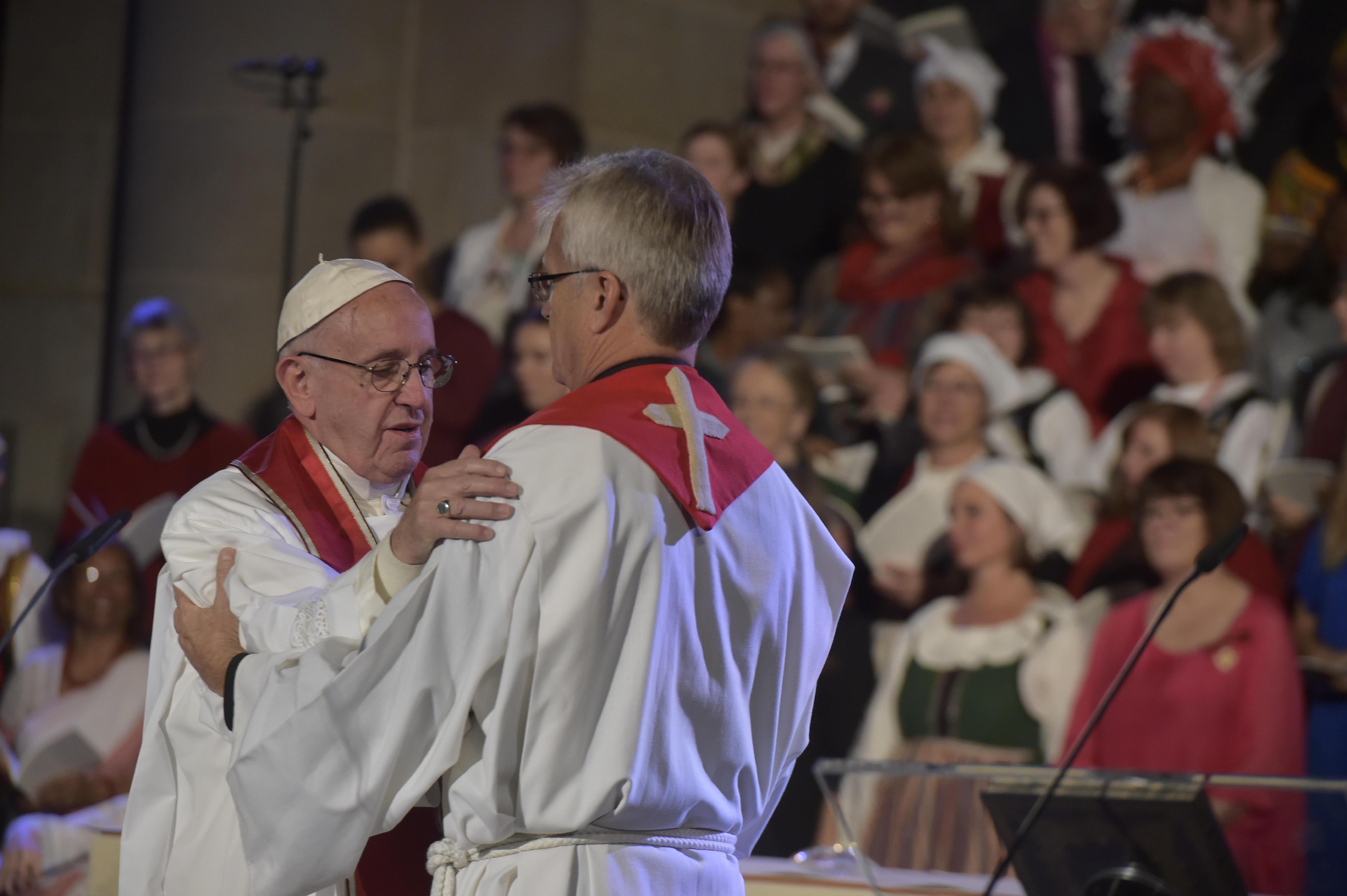 Célébration oecuménique pour les 500 ans de la Réforme à Lund © L'Osservatore Romano