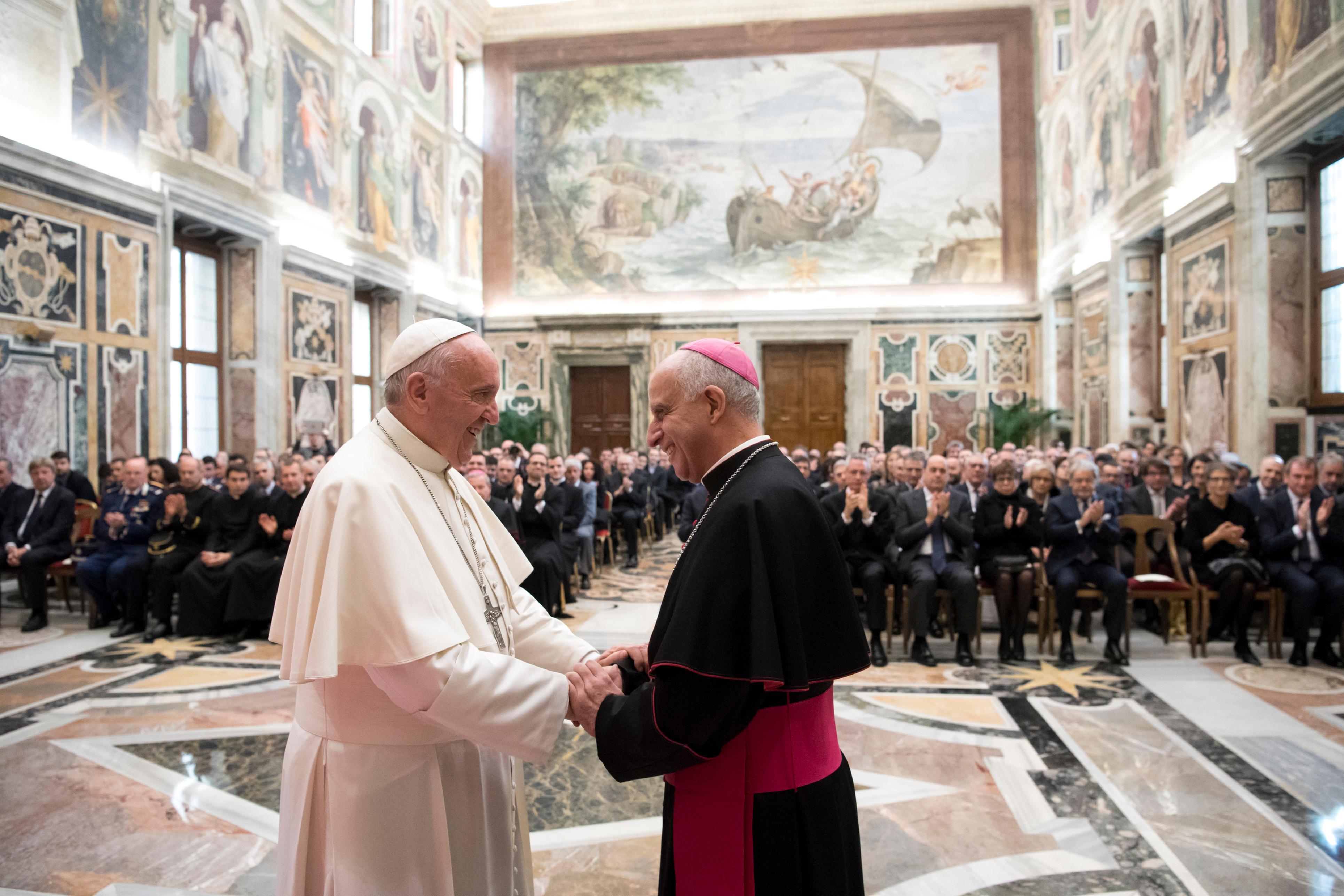 Organisateurs du Jubilé de la Miséricorde © L'Osservatore Romano