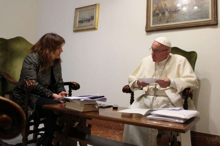 Interview du pape François par Stefania Falasca © Avvenire