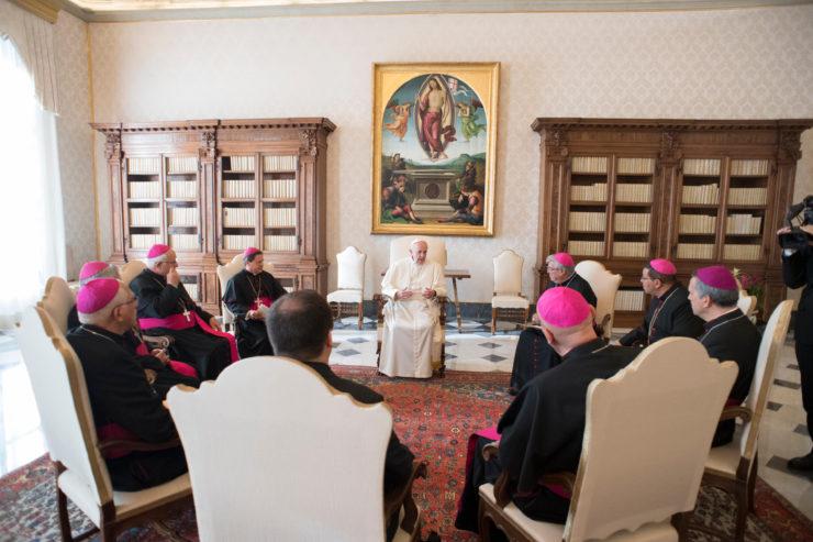 Les évêques du Costa Rica en visite ad limina © L'Osservatore Romano