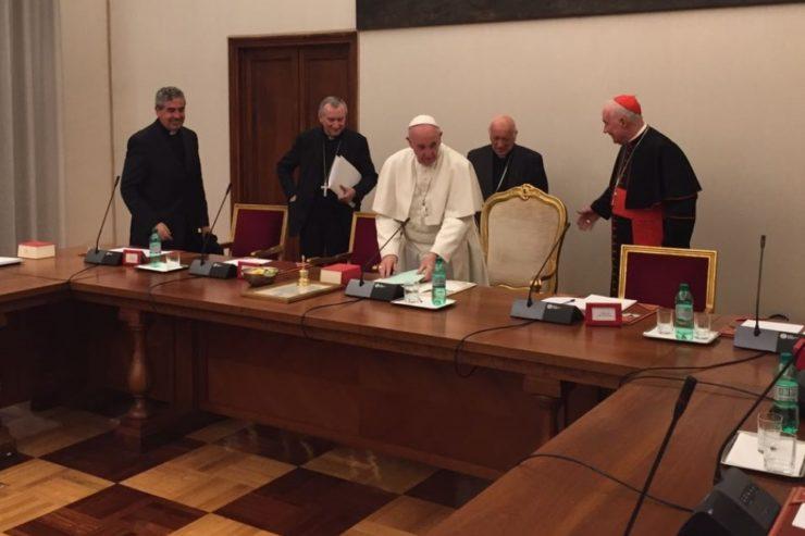 Seconde rencontre des évêques du Chili ad limina © CECh