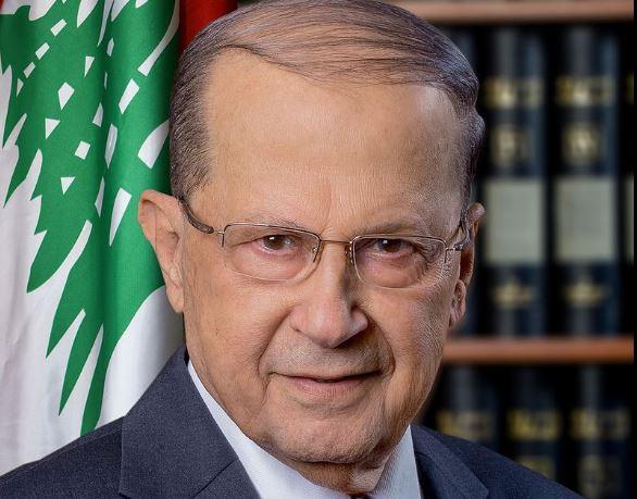 Michel Aoun, président du Liban © Wikimedia Commons / Mgchammas
