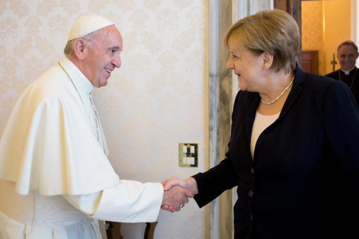 Angela Merkel © L'Osservatore Romano
