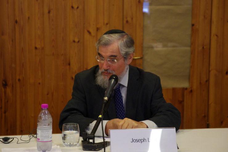 Rabbin Joseph Levi © Tonalestate