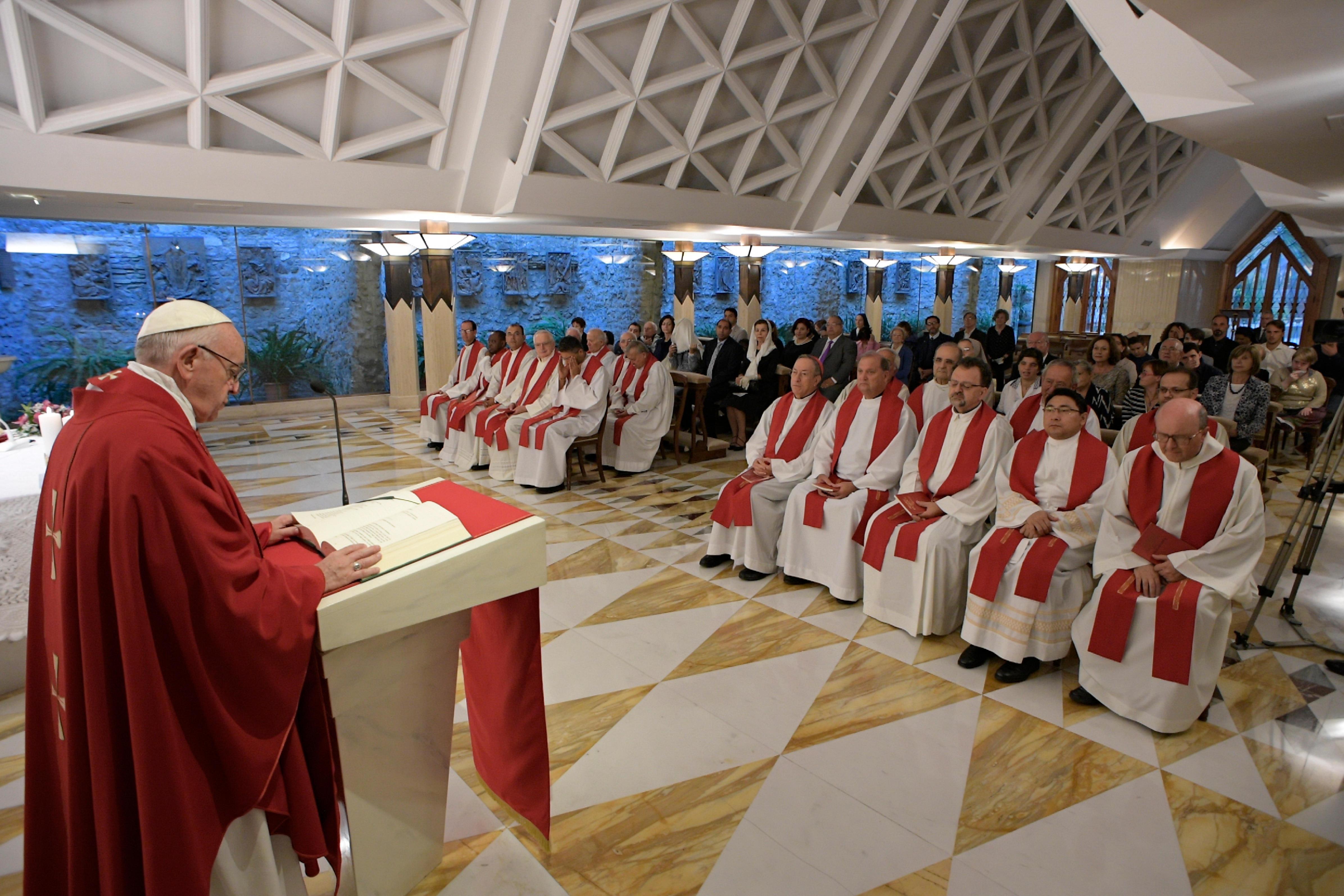 Sainte-Marthe 14/09/2017 © L'Osservatore Romano