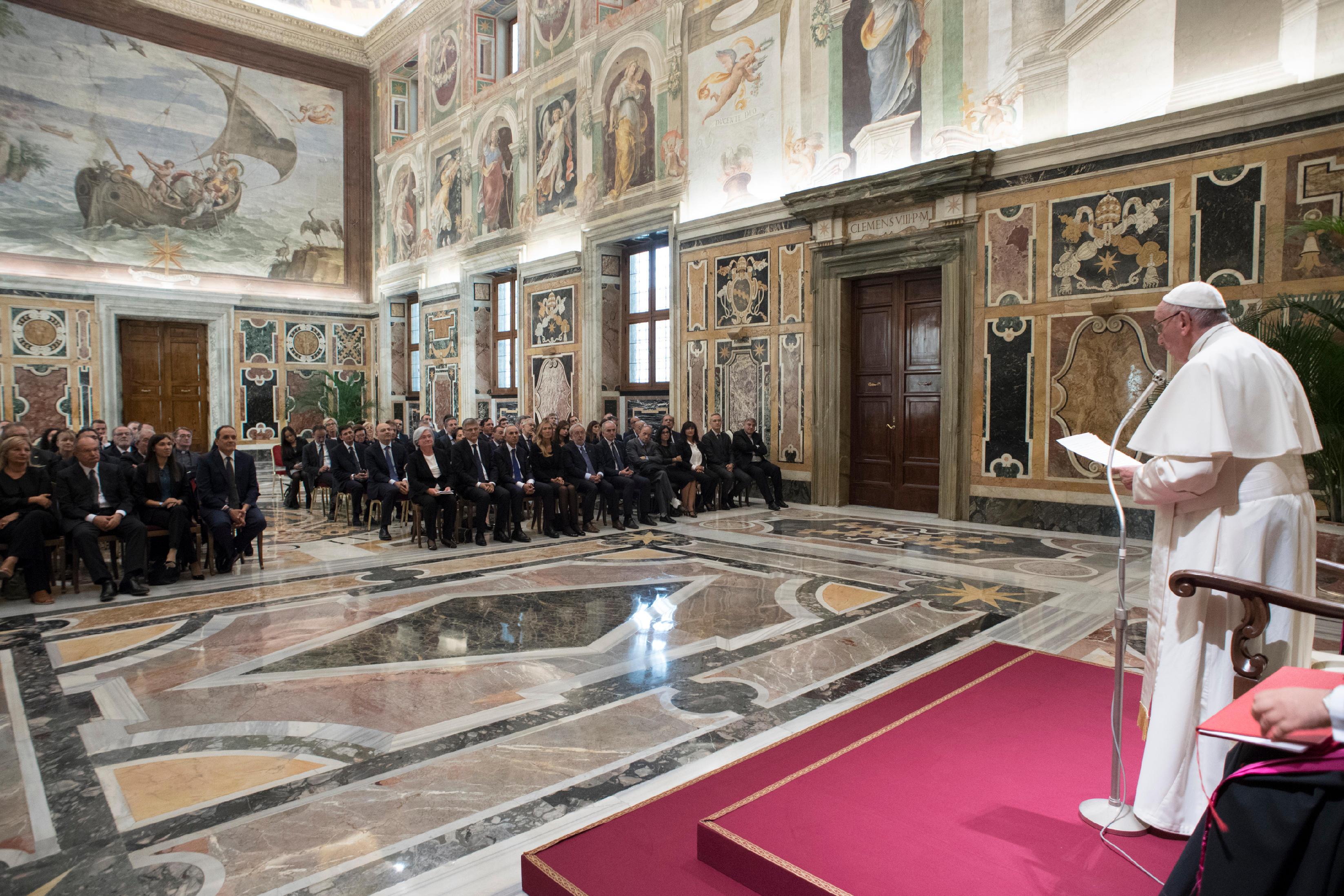 Commission parlementaire italienne antimafia © L'Osservatore Romano
