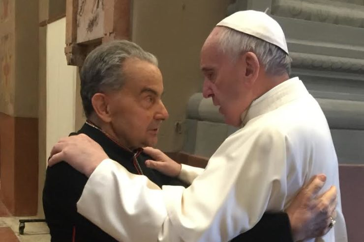 Cardinal Caffarra 2 avril 2017, Carpi / © PHOTO.VA - OSSERVATORE ROMANO