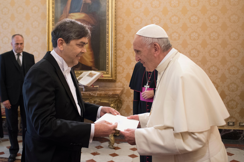 Dejan Šahović, ambassadeur de Serbie © L'Osservatore Romano