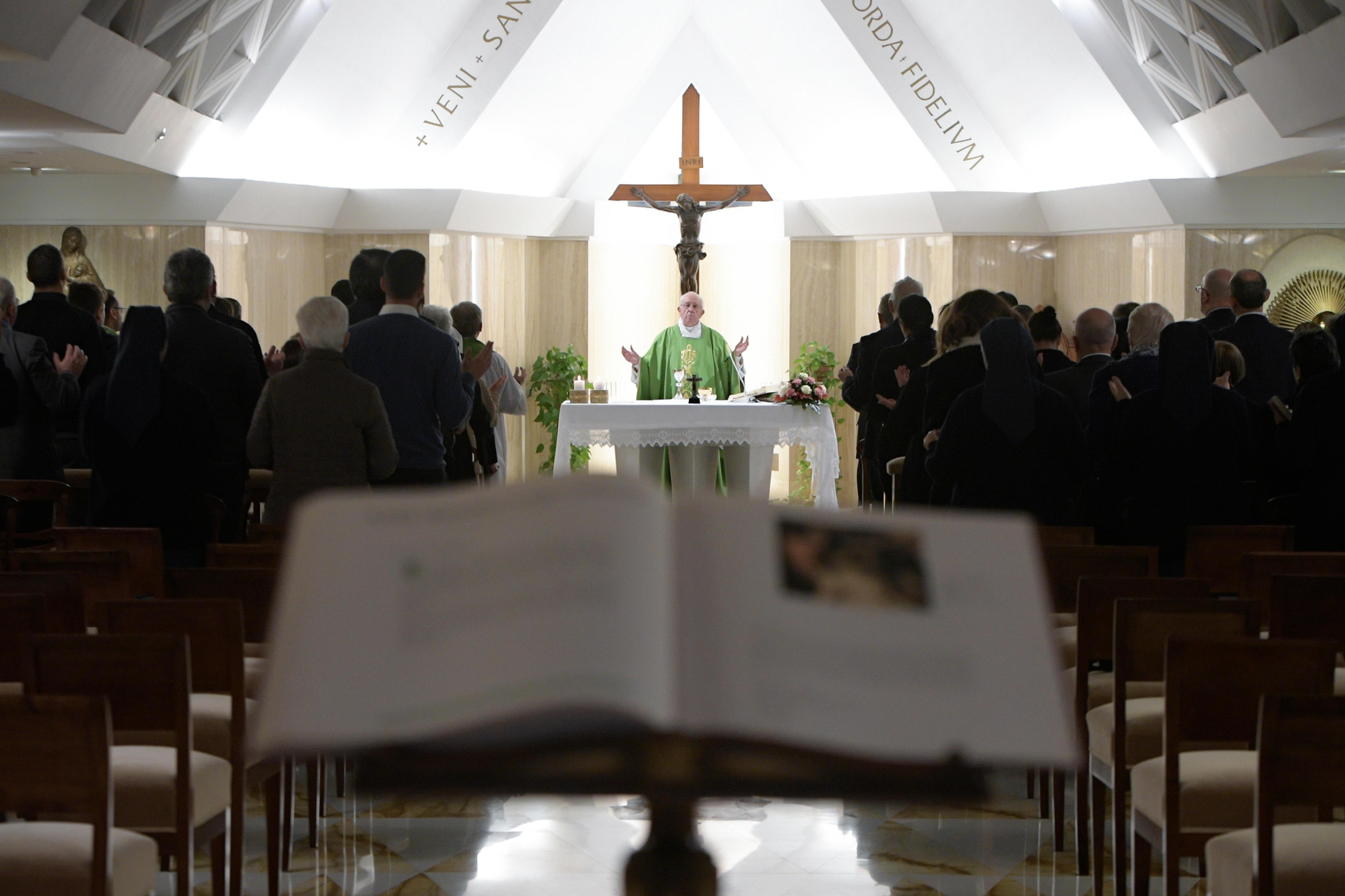 Sainte-Marthe 24/10/2017 © L'Osservatore Romano