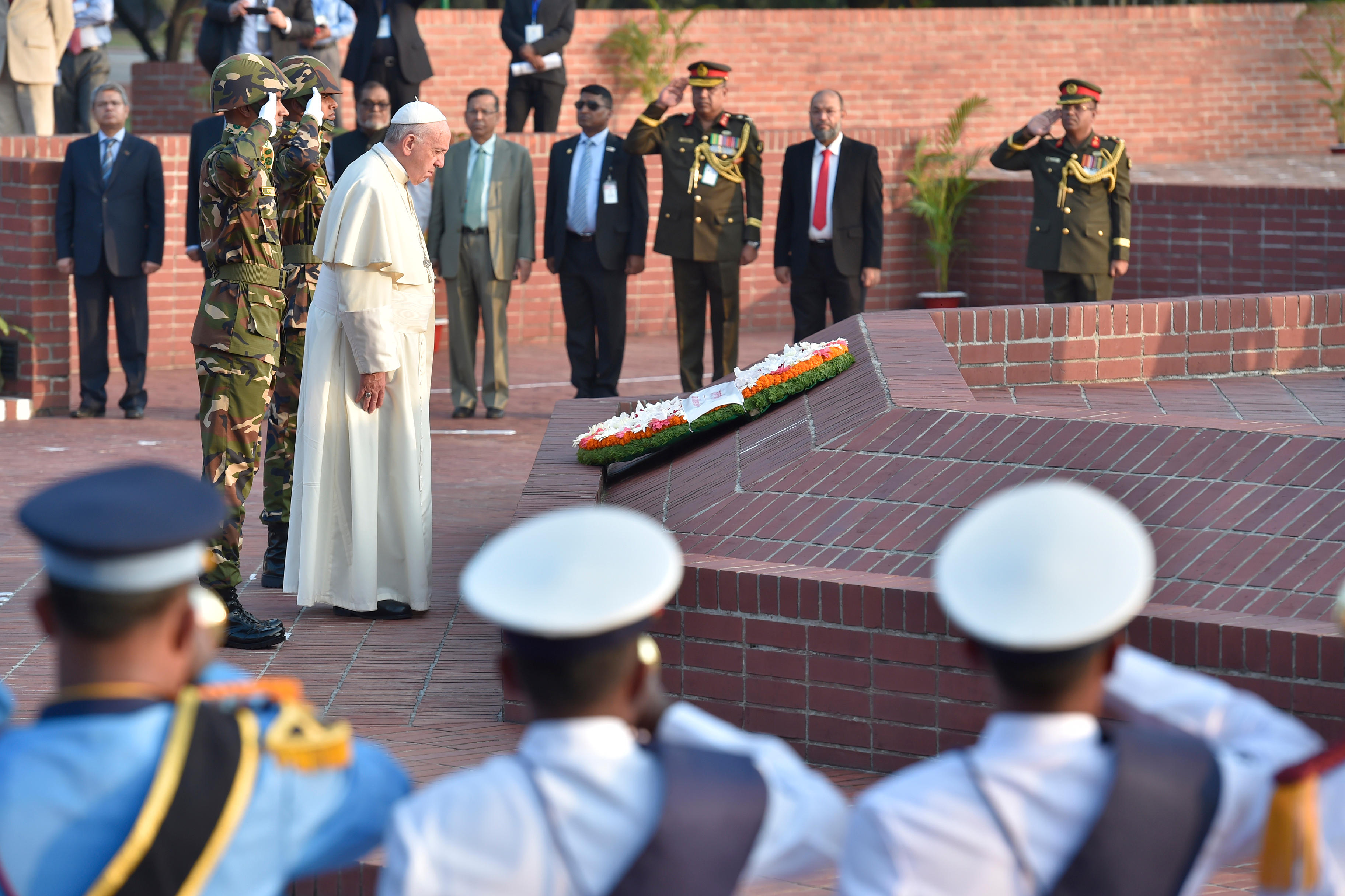National Martyrs' Memorial de Savar, Bangladesh © L'Osservatore Romano
