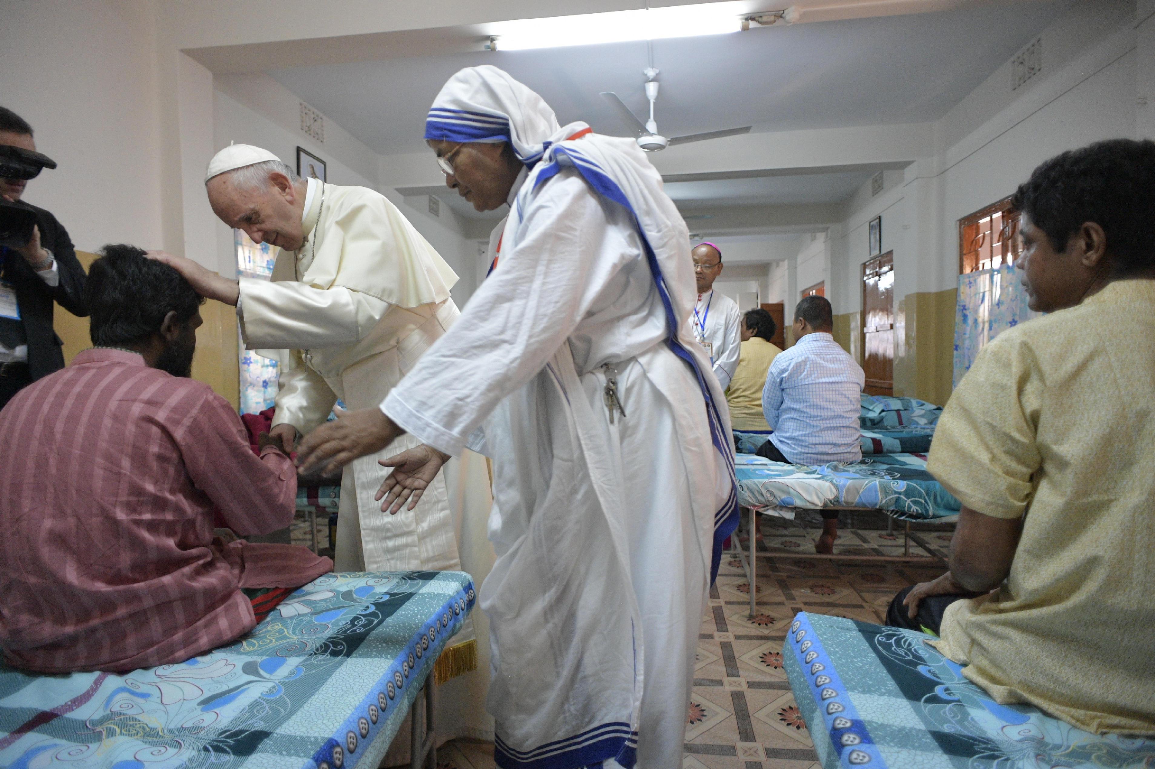 Maison de Mère Teresa, Bangladesh © L'Osservatore Romano