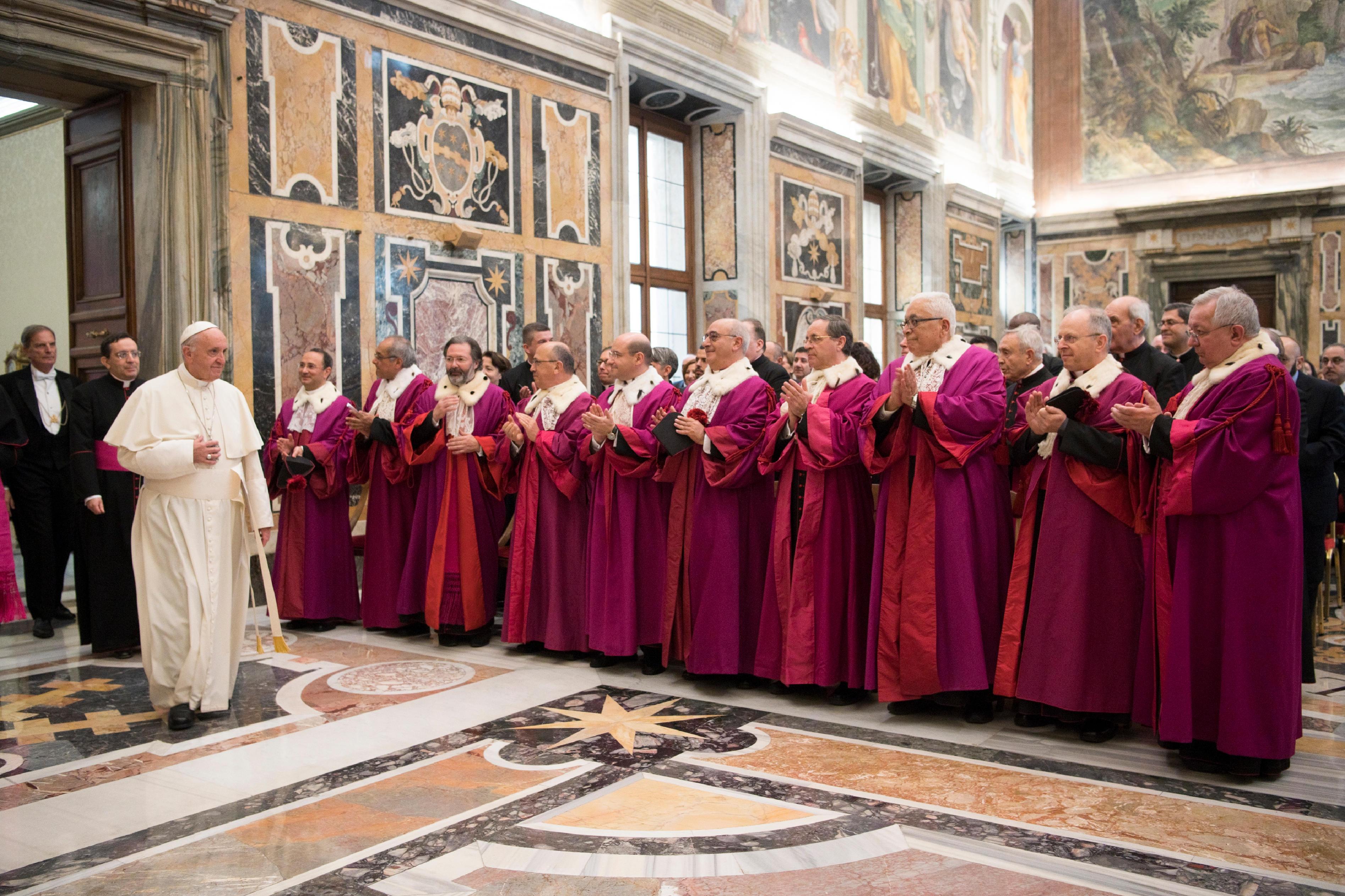 Inauguration de l'année judiciaire de la Rote romaine © Vatican Media
