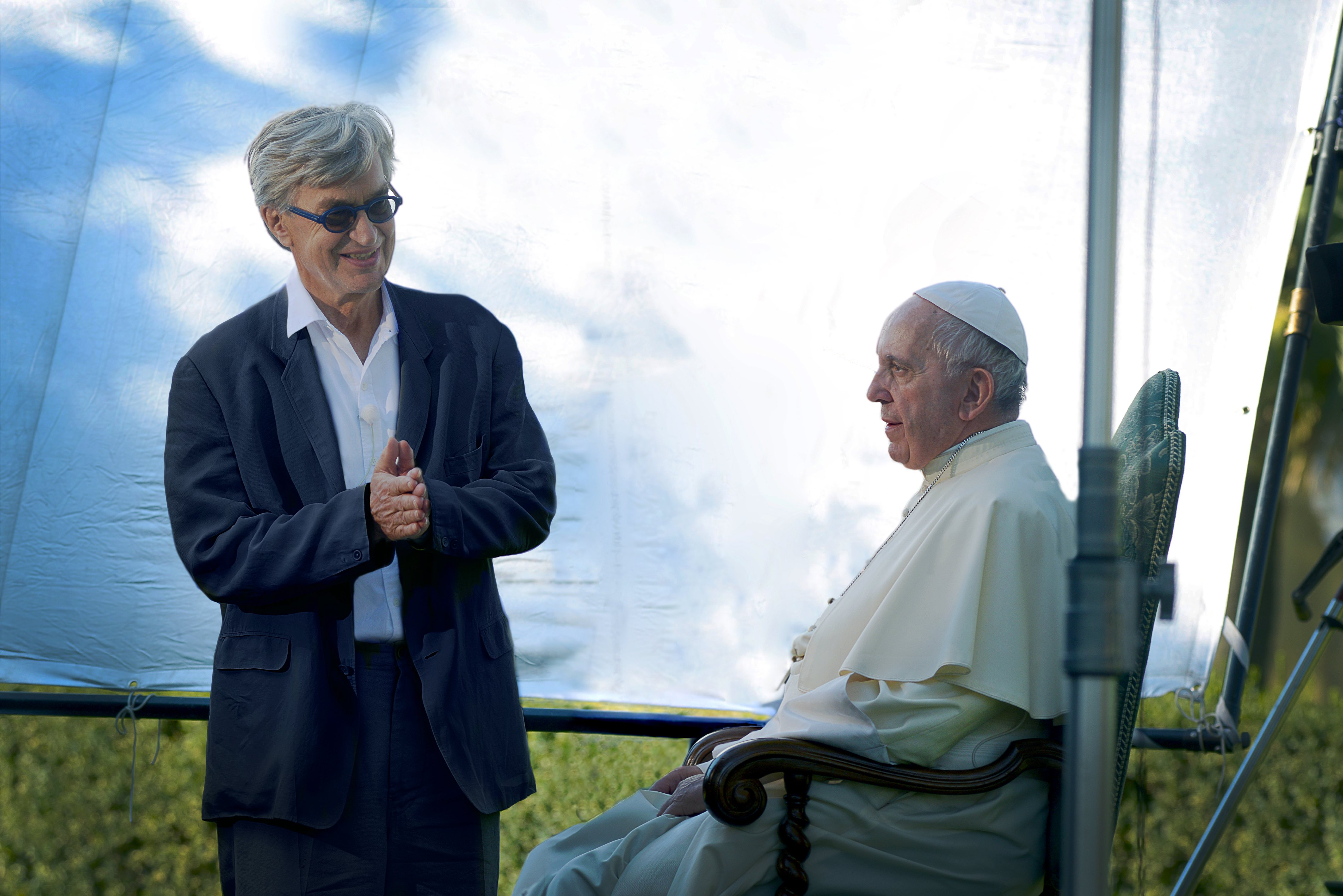 Wim Wenders © Vatican Media
