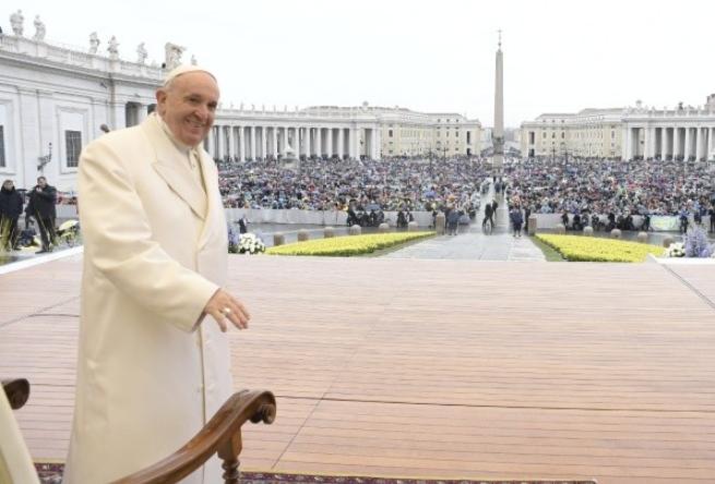 Audience générale du 4/04/2018 © Vatican Media