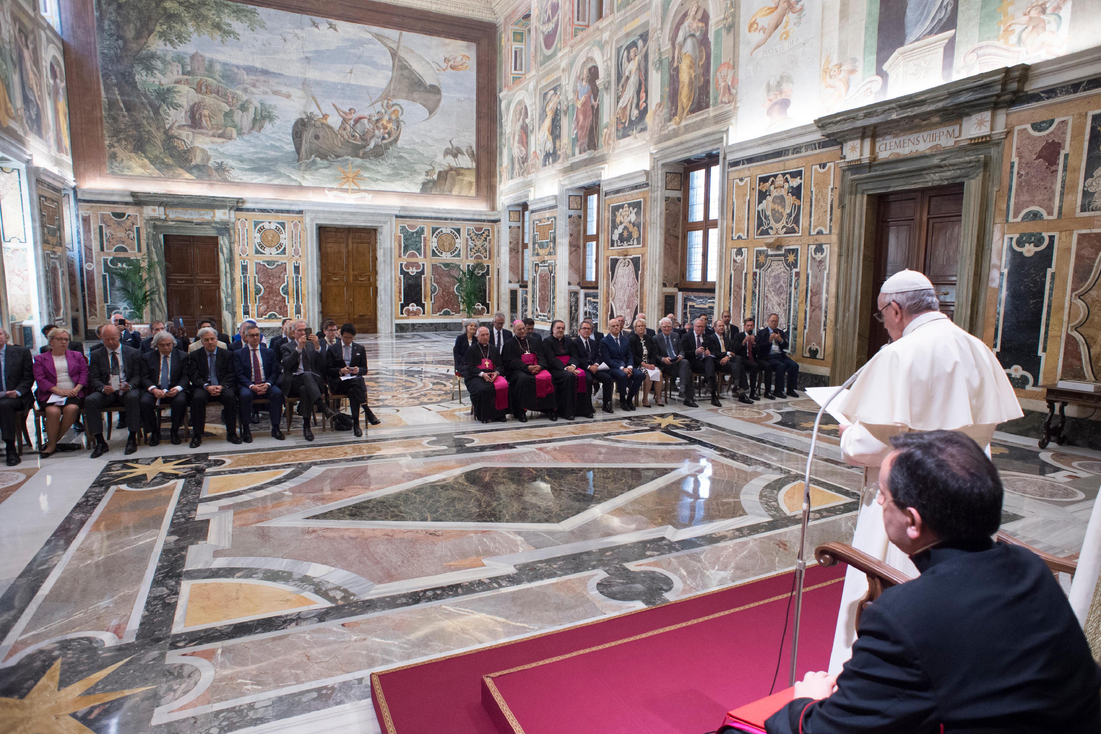 Symposium sur les énergies © Vatican Media