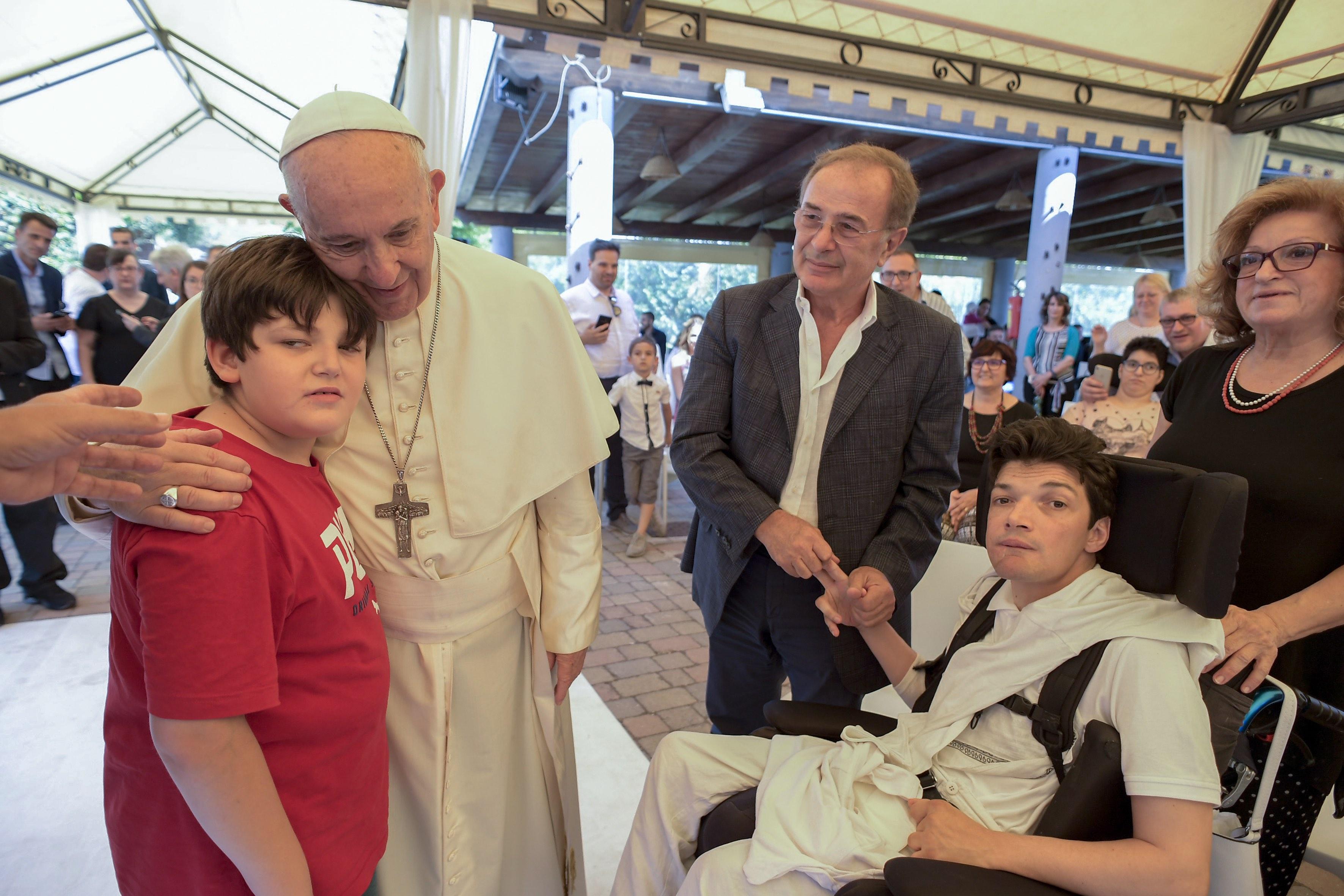 Fondation Durante e Dopo di Noi, handicap © Vatican Media