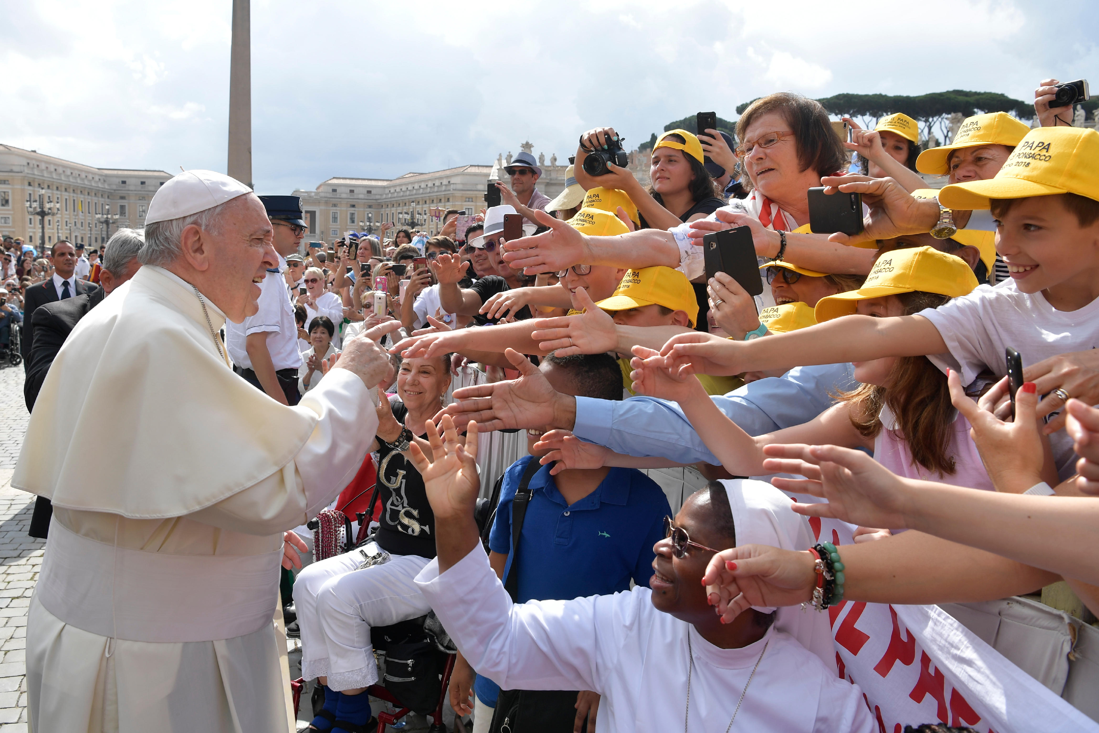 Audience 13/6/2018 © Vatican News