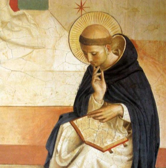 S. Dominique, Fra Angelico @ Couvent Saint-Marc de Florence (Italie)