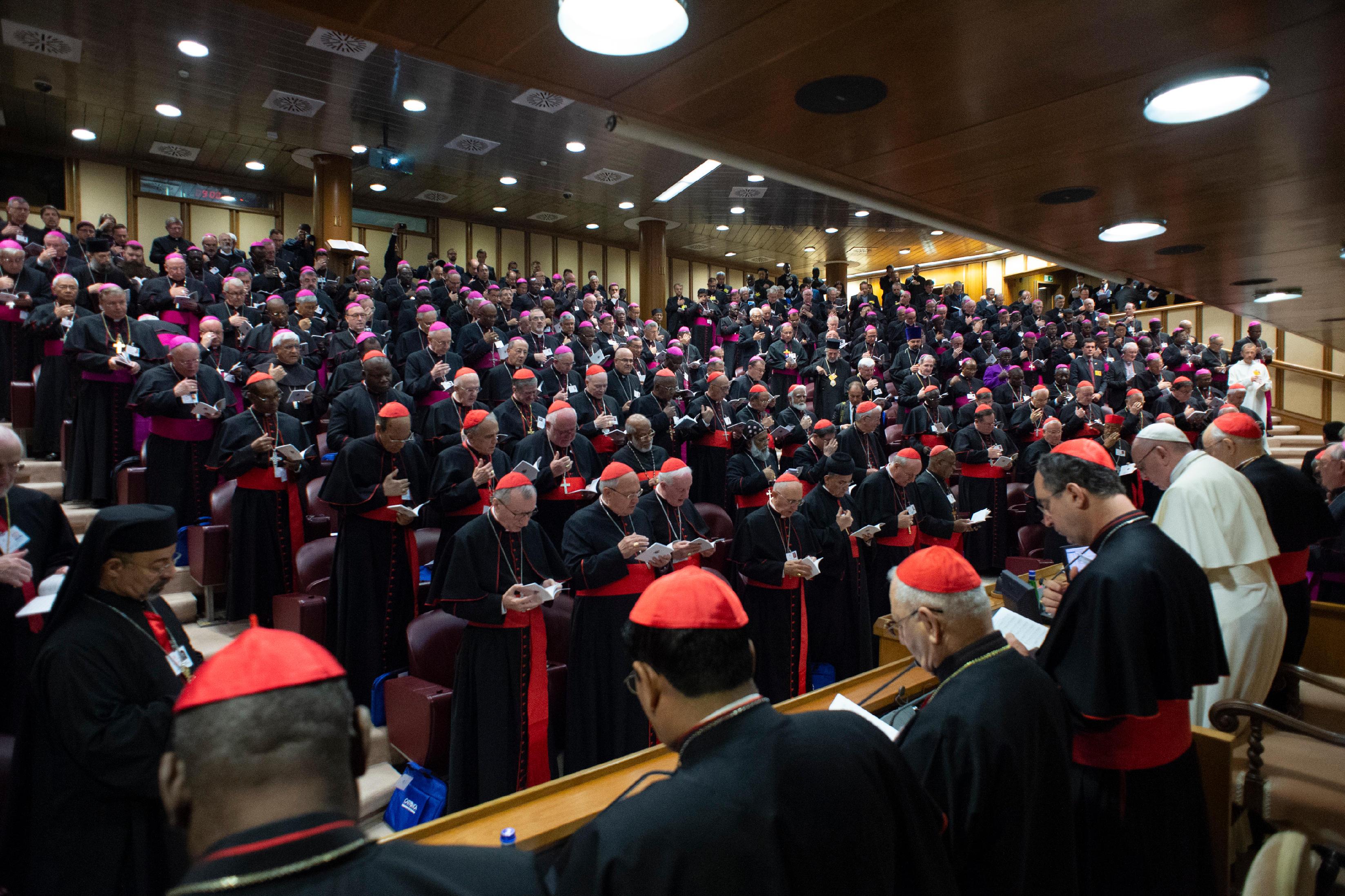 2e Congrégation générale du Synode des évêques sur les jeunes 4 oct. © Vatican Media