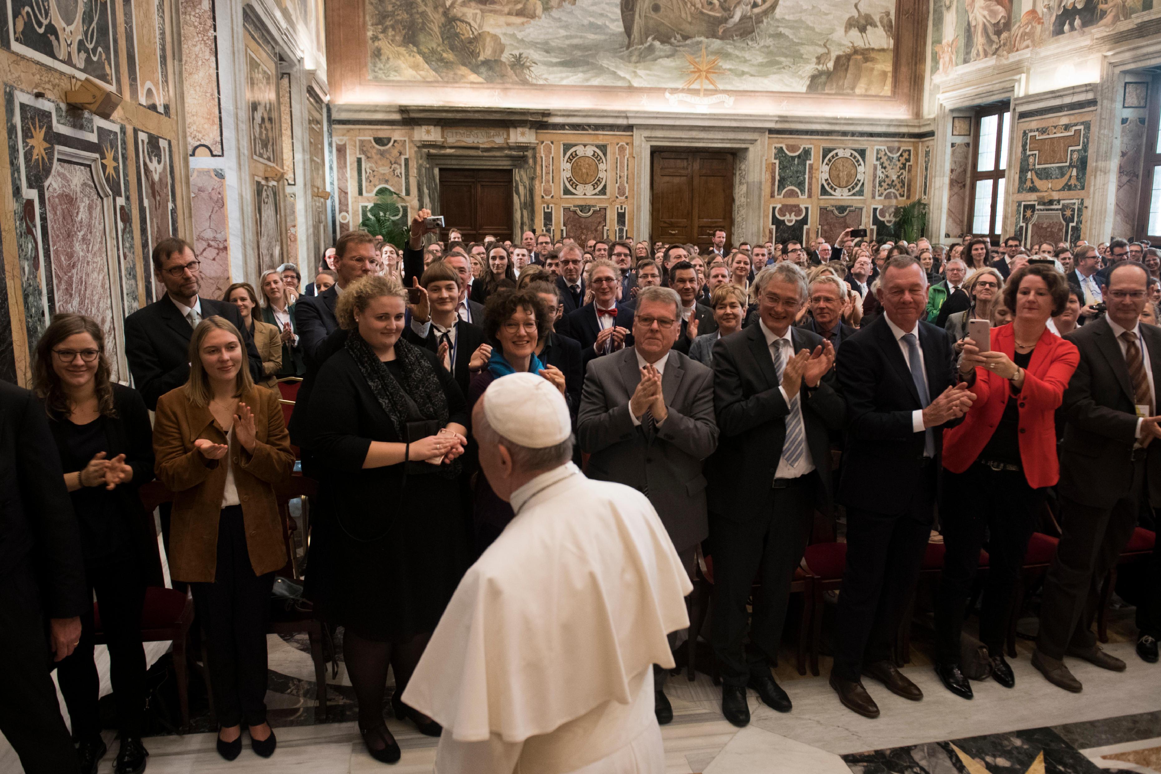 École de journalisme d'Allemagne © Vatican Media