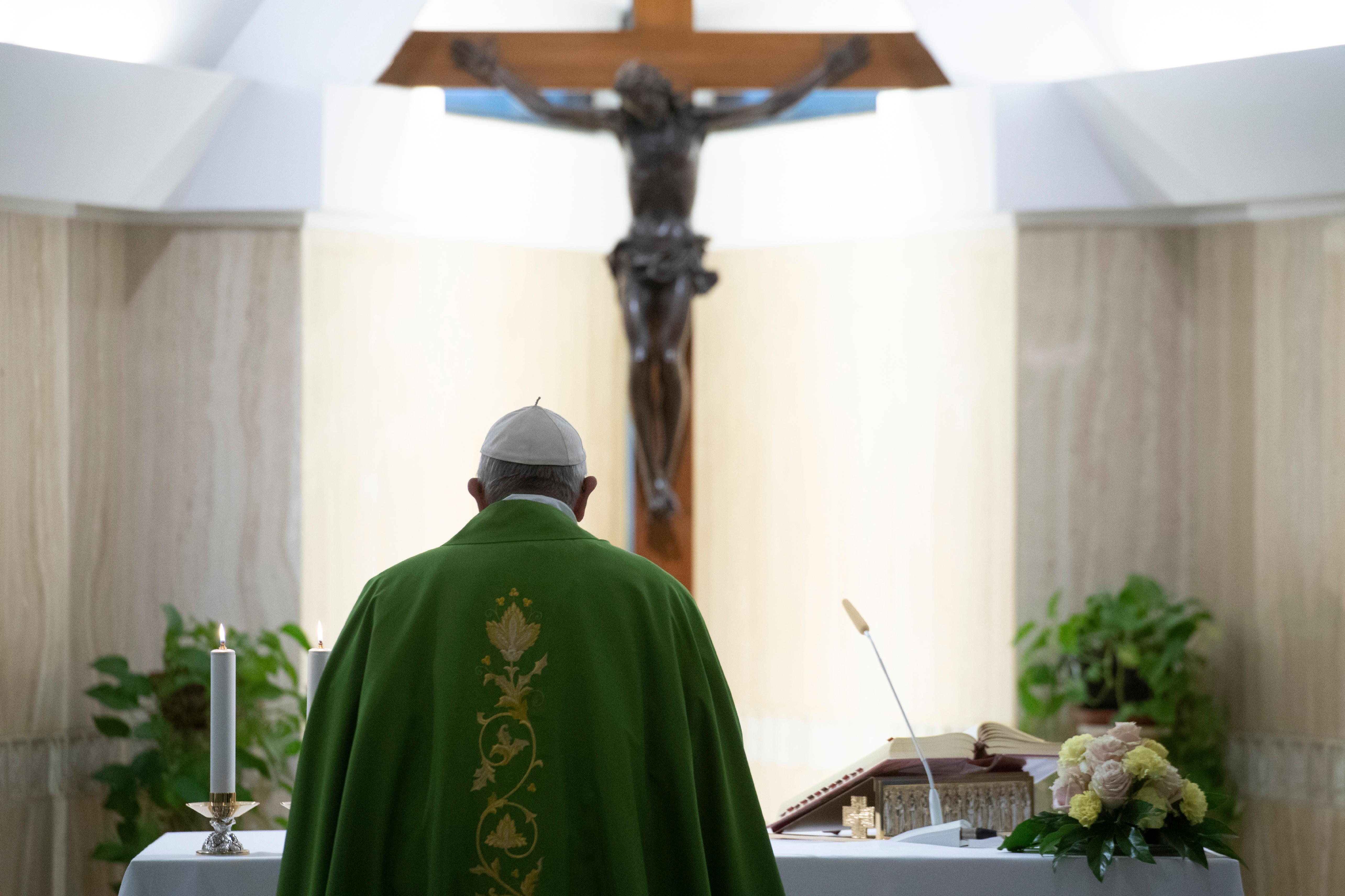 Sainte-Marthe, 6 nov. 2018 © Vatican News