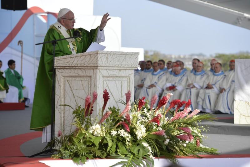 Messe de conclusion des JMJ Panama © Vatican Media