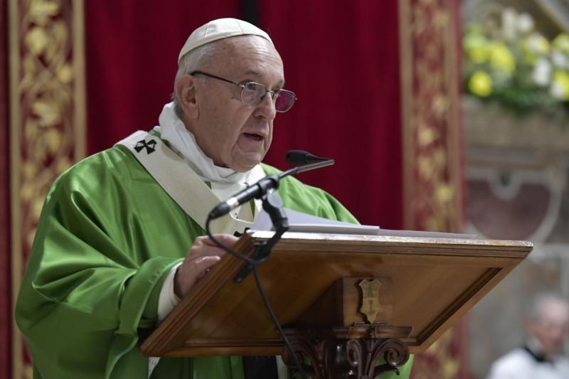 Discours conclusif de la rencontre pour la protection des mineurs © Vatican Media