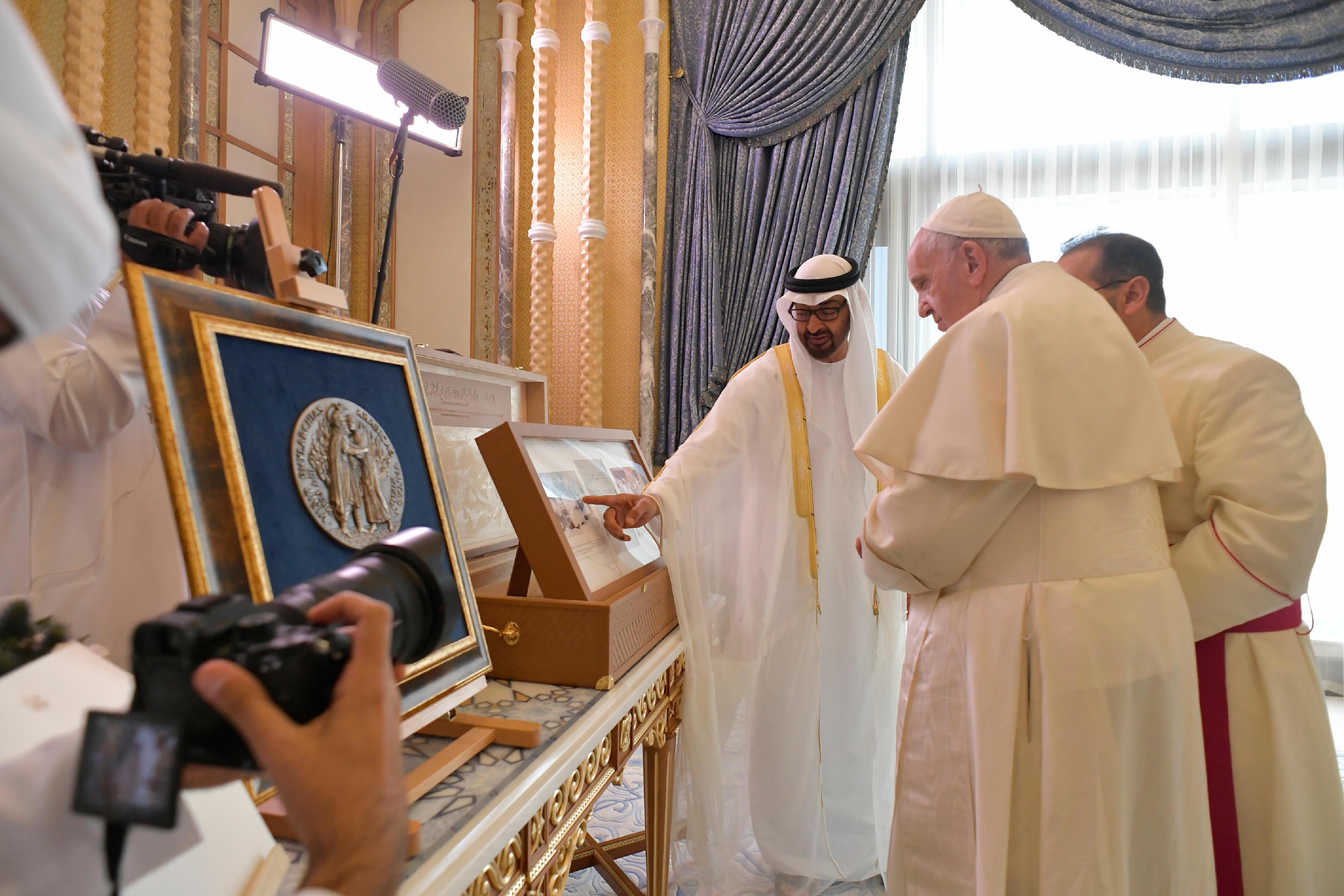 Palais présidentiel d'Abou Dhabi, Emirats arabes unis © Vatican Media