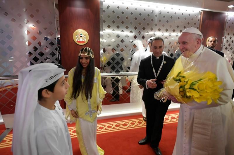 Discours d'Abou Dhabi © Vatican Media