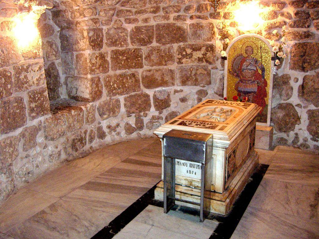 Tombeau de saint Georges à Lod (Israël) @ Domaine public