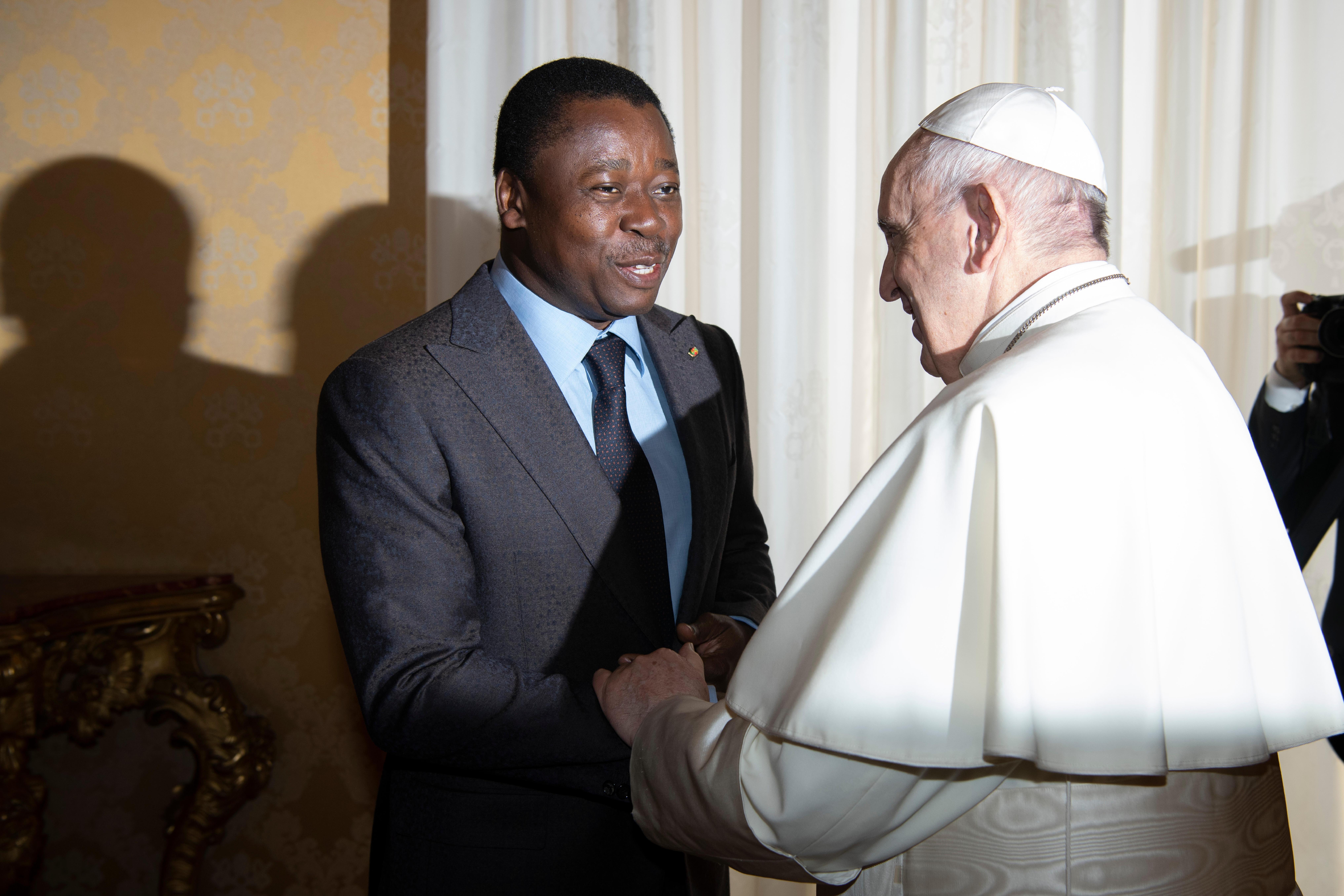 Faure Essozimna Gnassingbé, président du Togo © Vatican Media