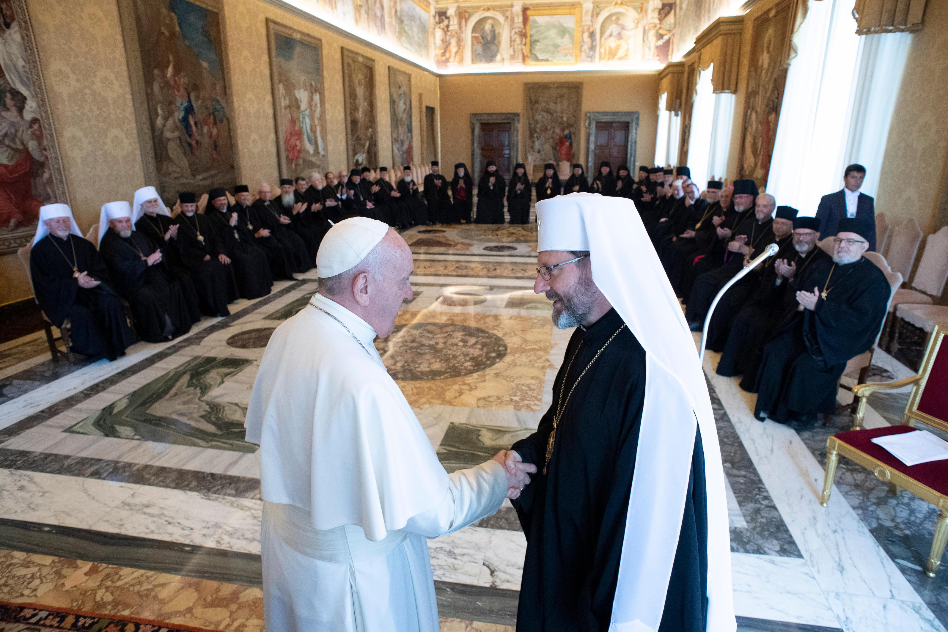 Gréco-catholiques ukrainiens : pas de Synode sans Esprit-Saint  DSC0317