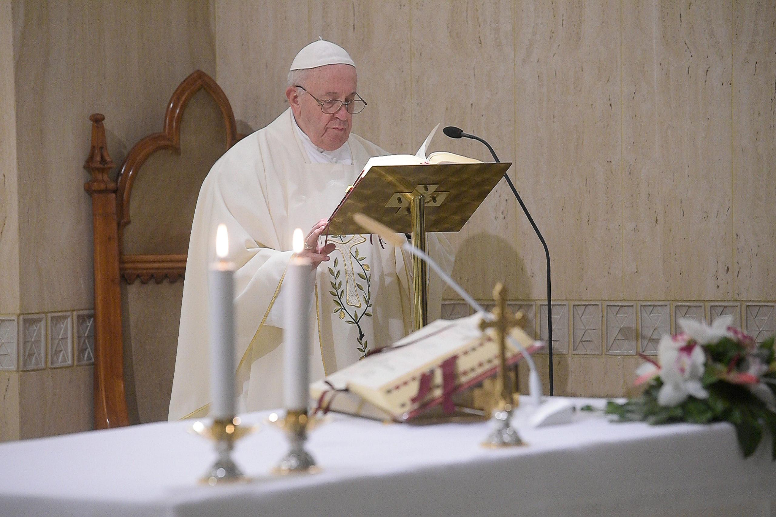 Messe du 17 janvier 2020, Sainte-Marthe © Vatican Media