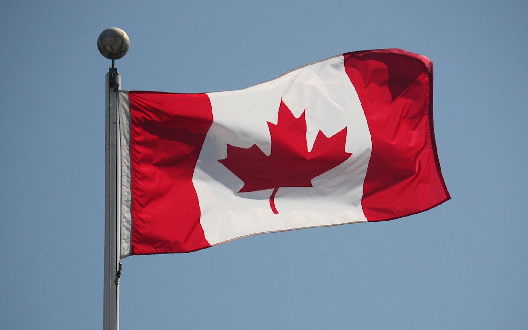 Drapeau du Canada @ Wikimedia Commons