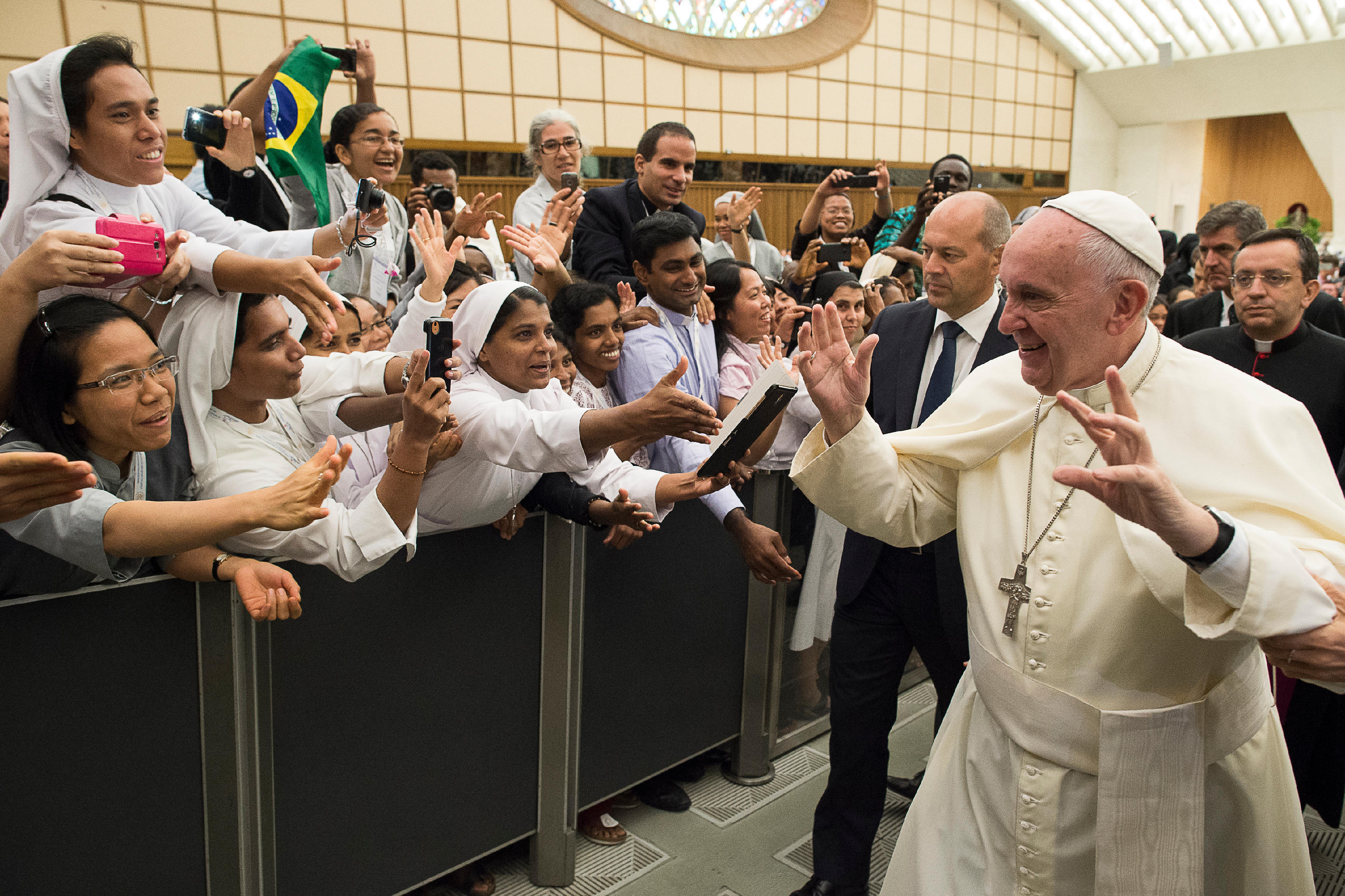 Audience with Young Consecrated Men and Women in the Paul VI Audience Hall