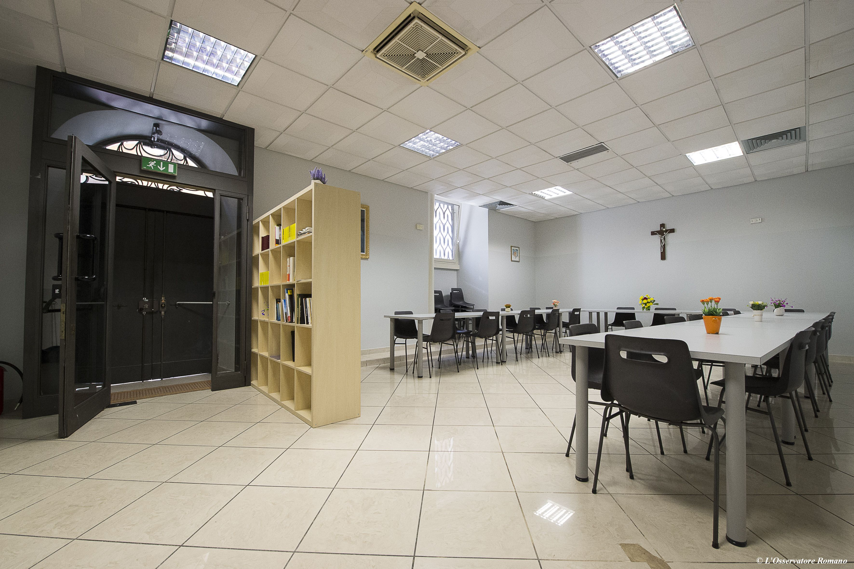 """The new Rome dormitory for the homeless """"Gift of Mercy"""""""
