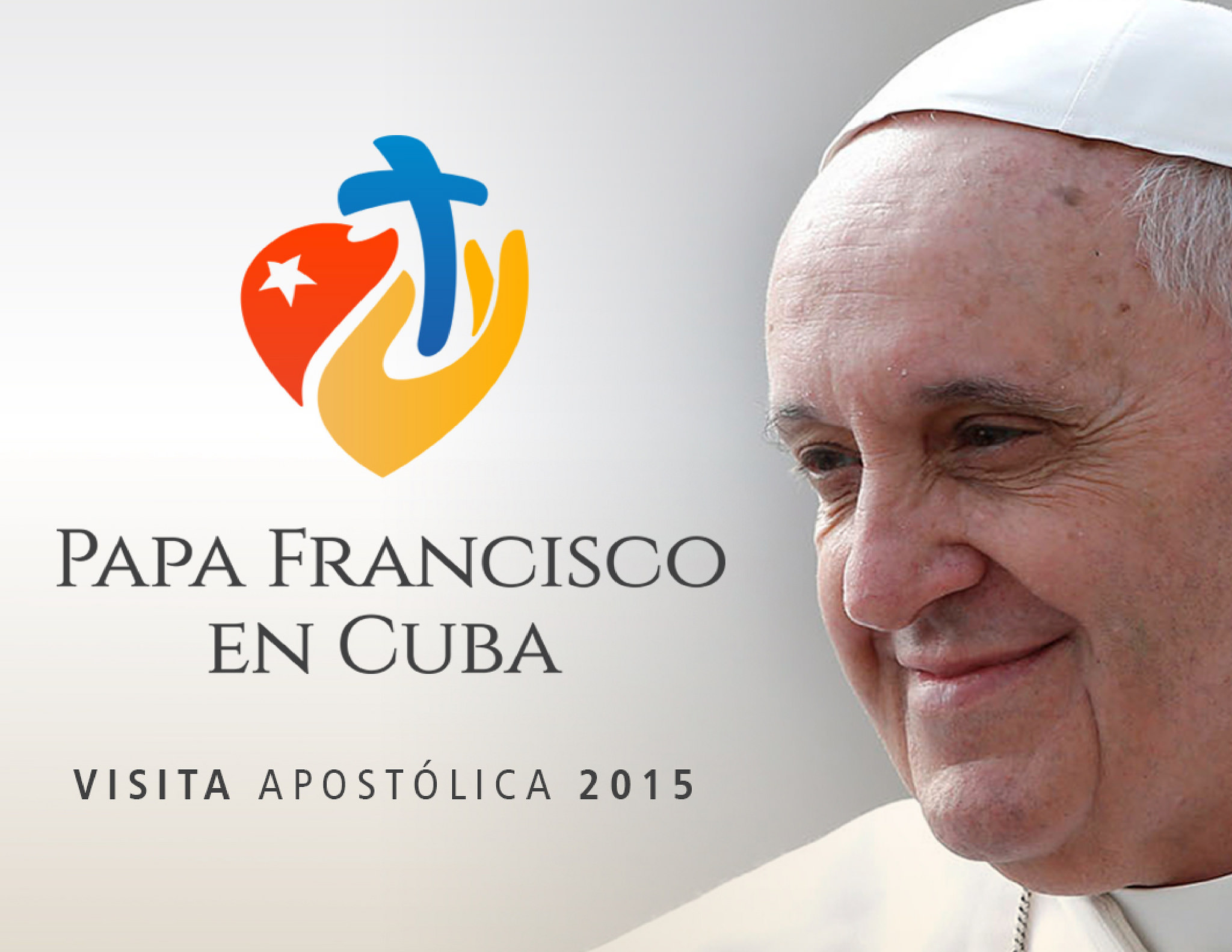 Pope at Cuba - poster