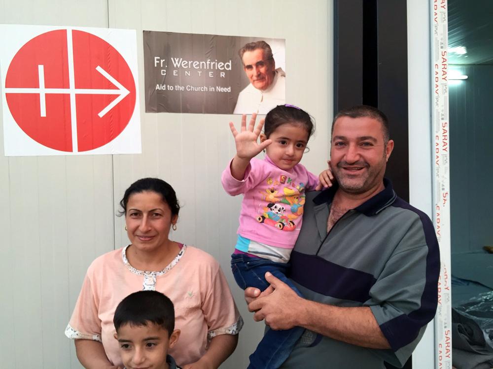 Réfugiés chrétiens à Erbil © ACN