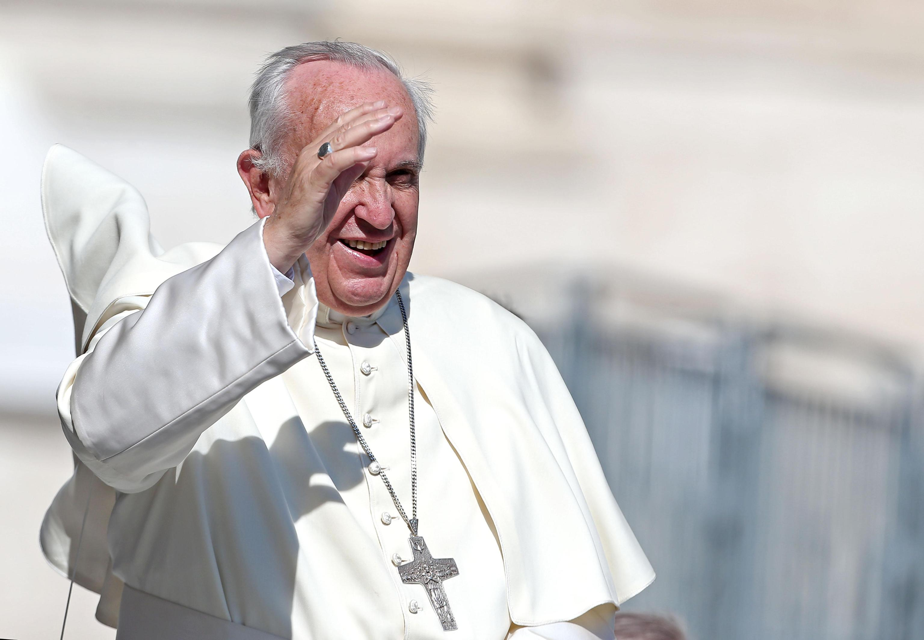 Pope Francis' at the general audience