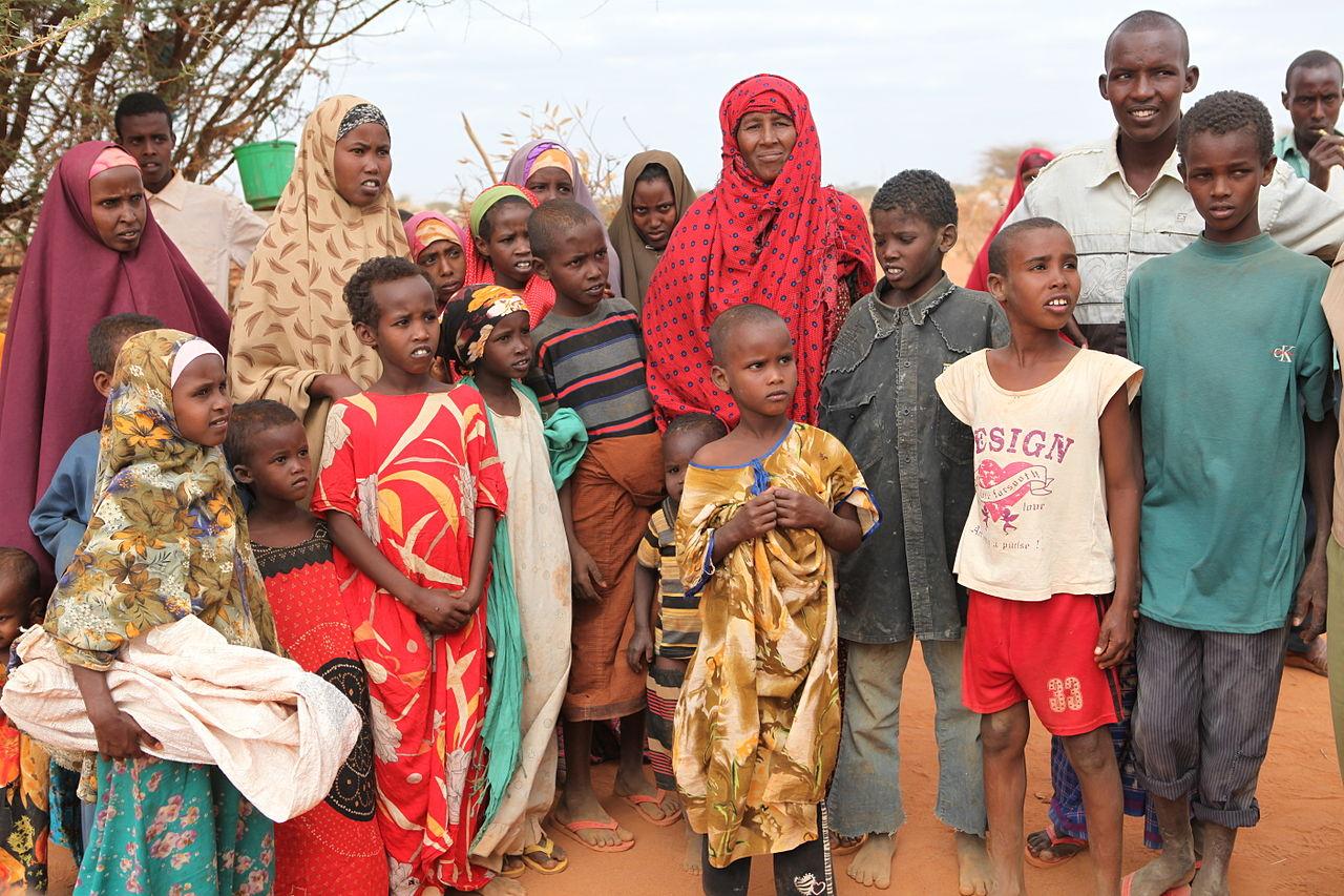 Réfugiés de Somalie @ Wikimedia Commons - Oxfam East Africa