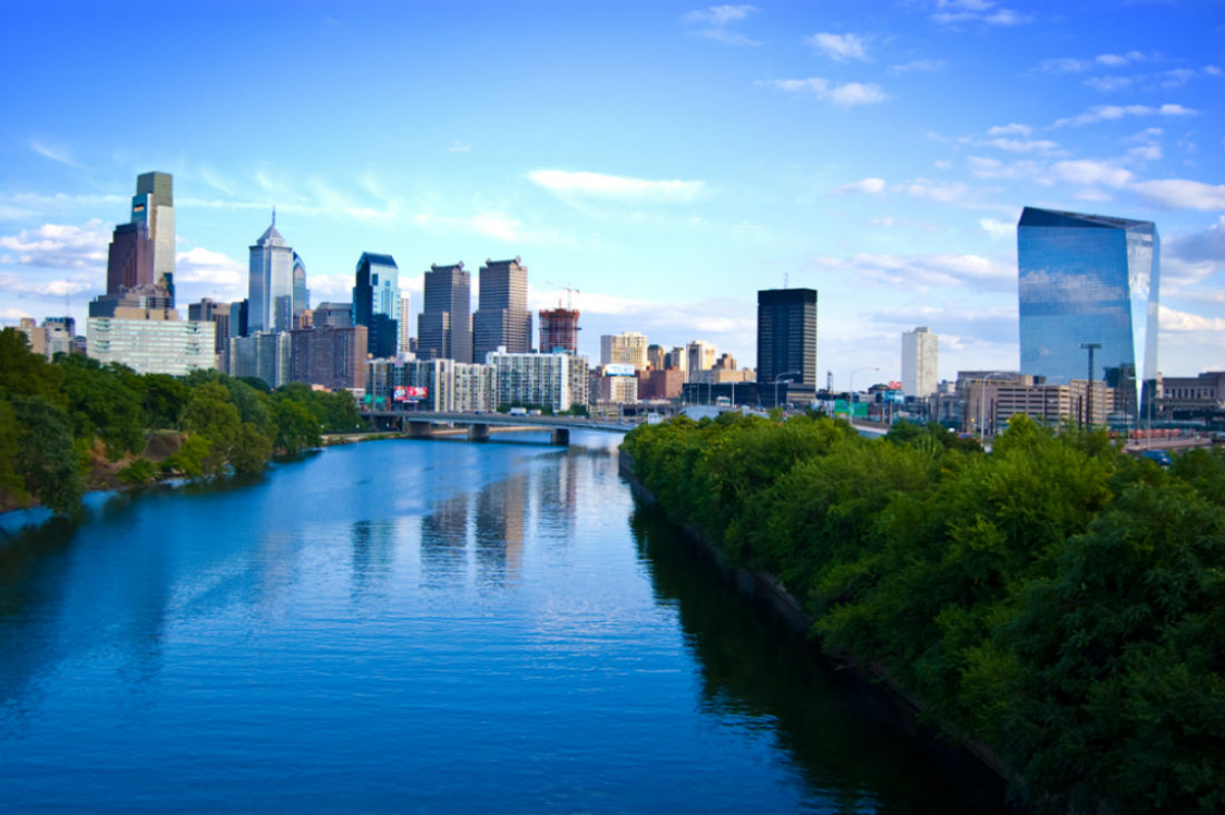 Philadelphia Skyline 2008