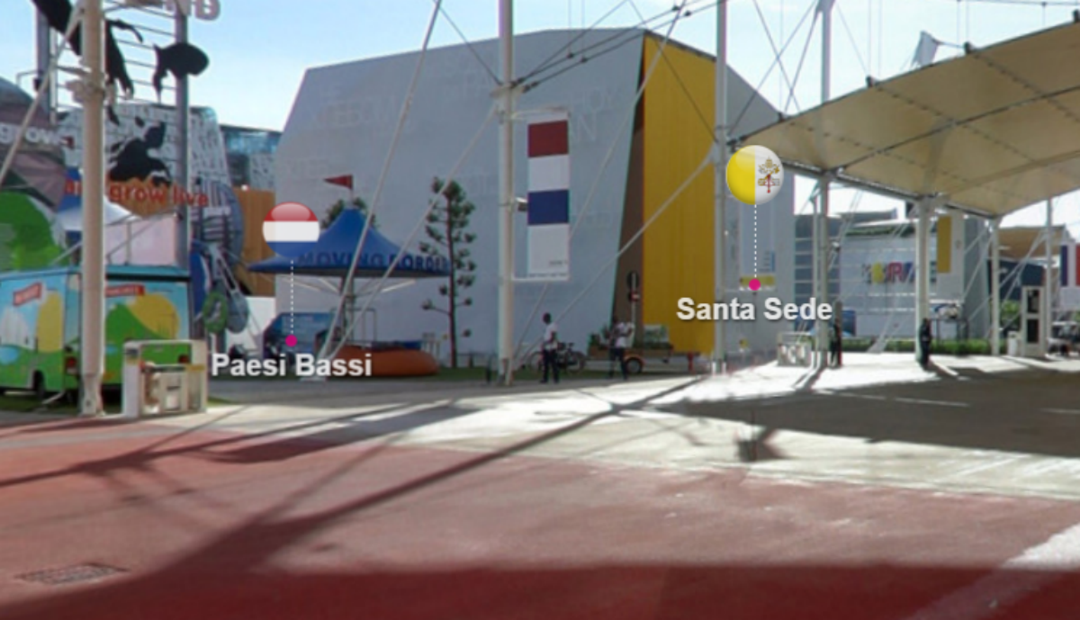 Pavillon du Saint-Siège à l'Exposition universelle de Milan 2015